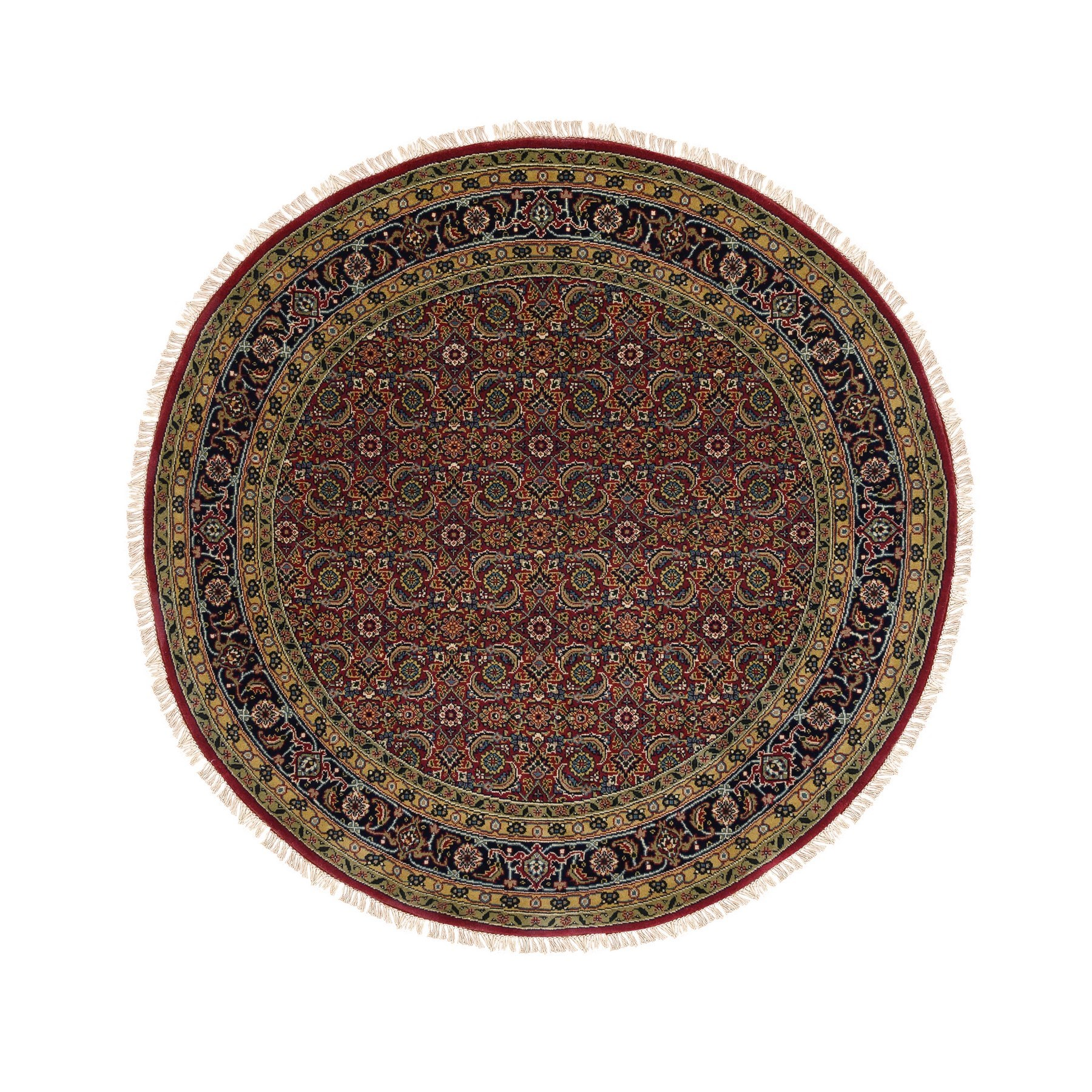 Pirniakan Collection Hand Knotted Red Rug No: 1124700