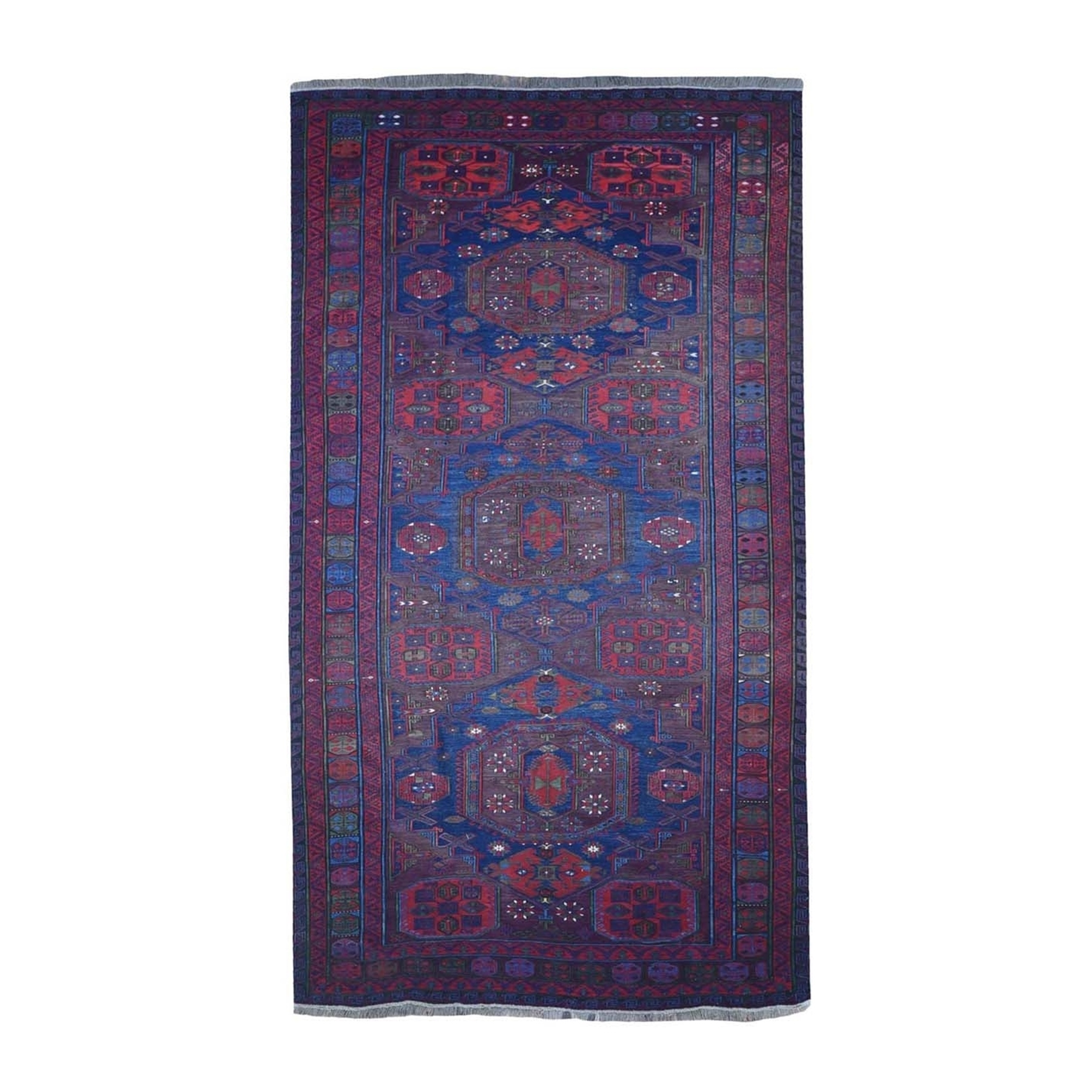 Antique Collection Hand Knotted Purple Rug No: 1132786