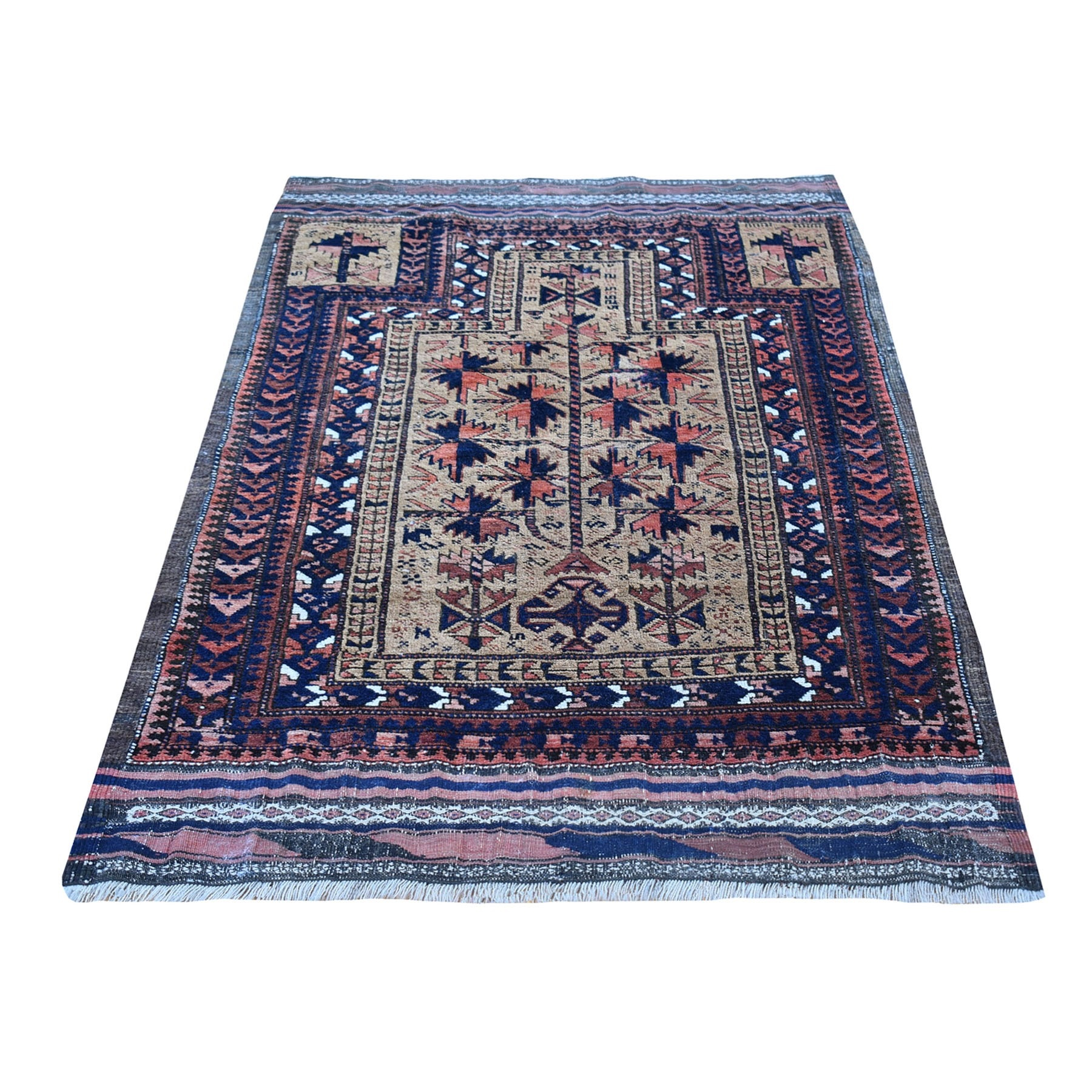 Antique Collection Hand Knotted Brown Rug No: 1132924