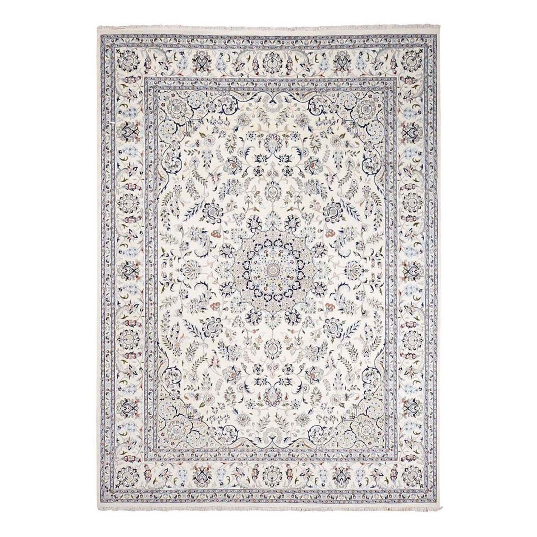 Pirniakan Collection Hand Knotted Ivory Rug No: 1132810