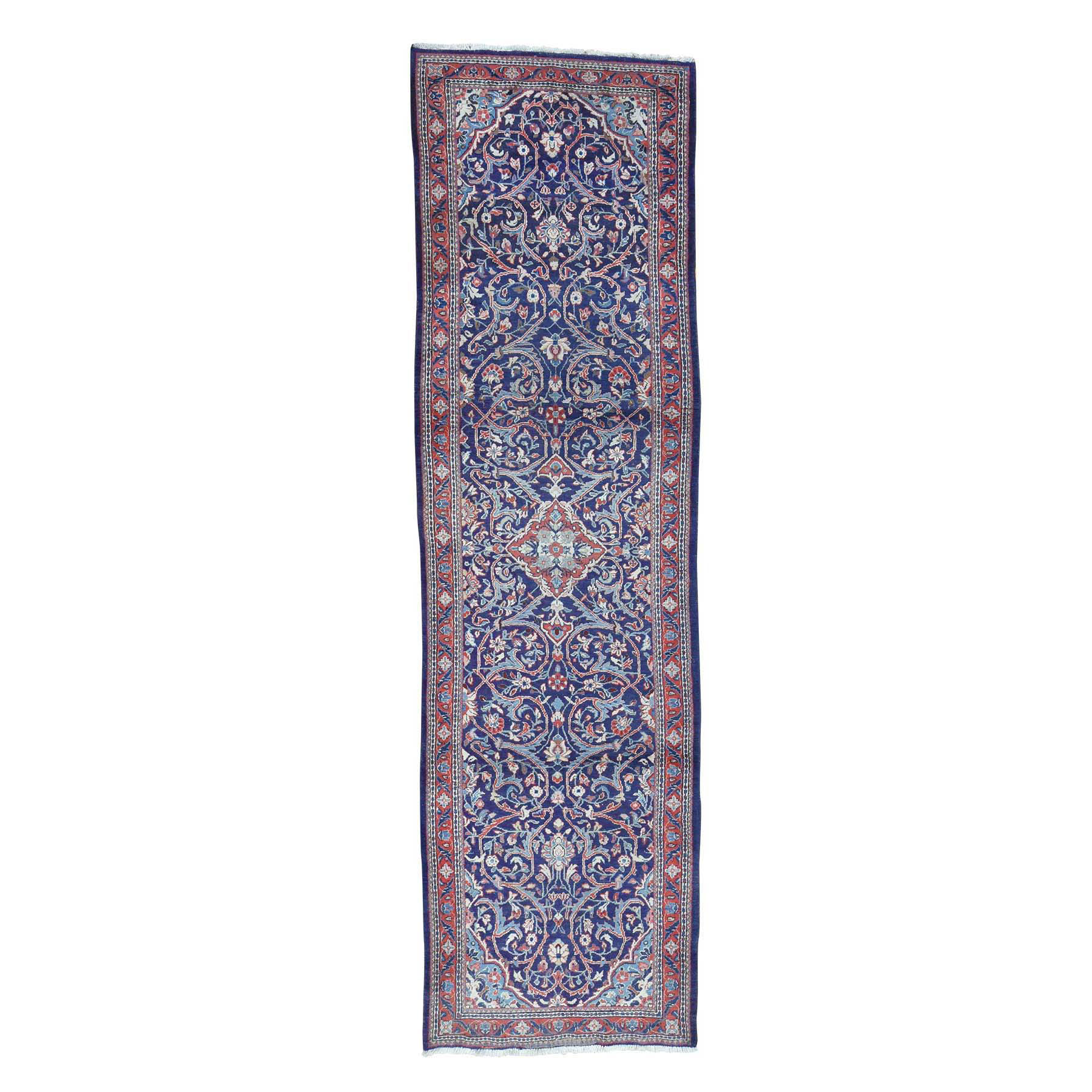 Classic Persian Collection Hand Knotted Blue Rug No: 0170038