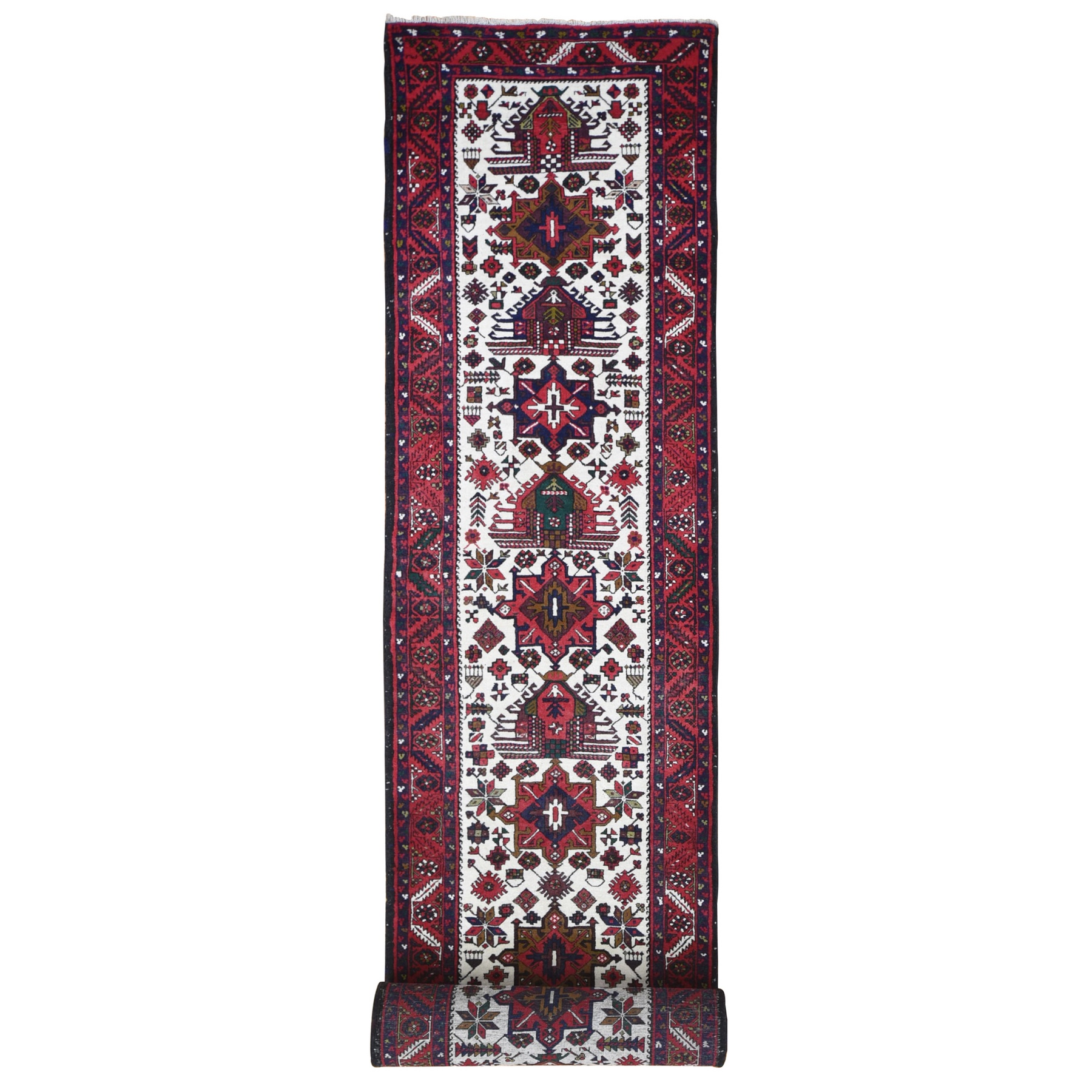 Classic Persian Collection Hand Knotted Ivory Rug No: 1133292