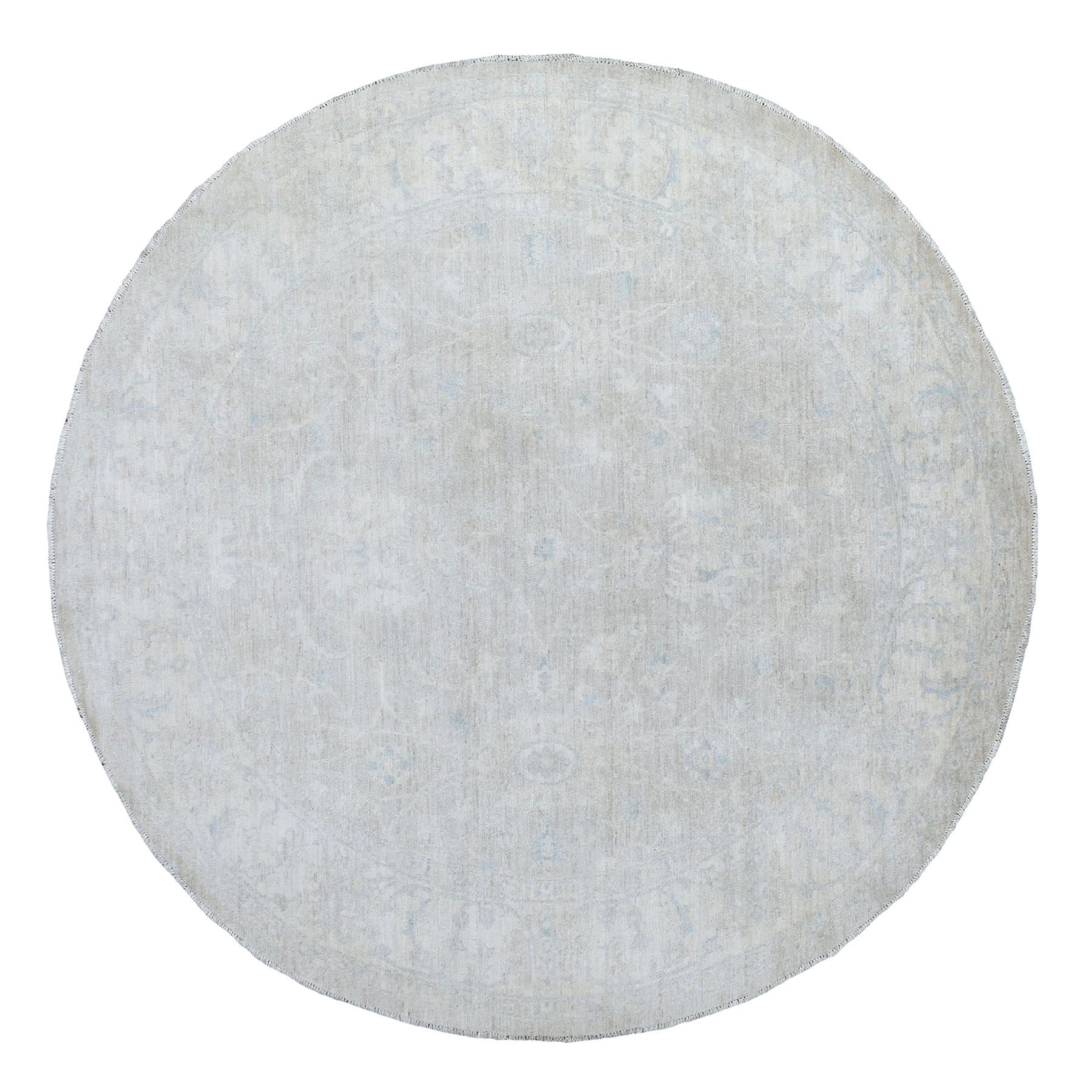 Agra And Turkish Collection Hand Knotted Beige Rug No: 1135772