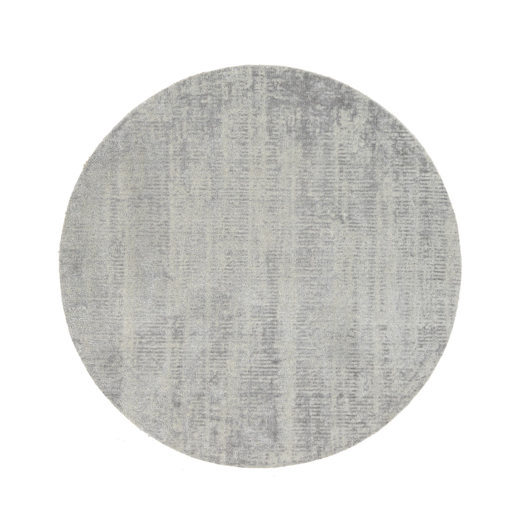 Mid Century Modern Collection Hand Loomed Grey Rug No: 1125722