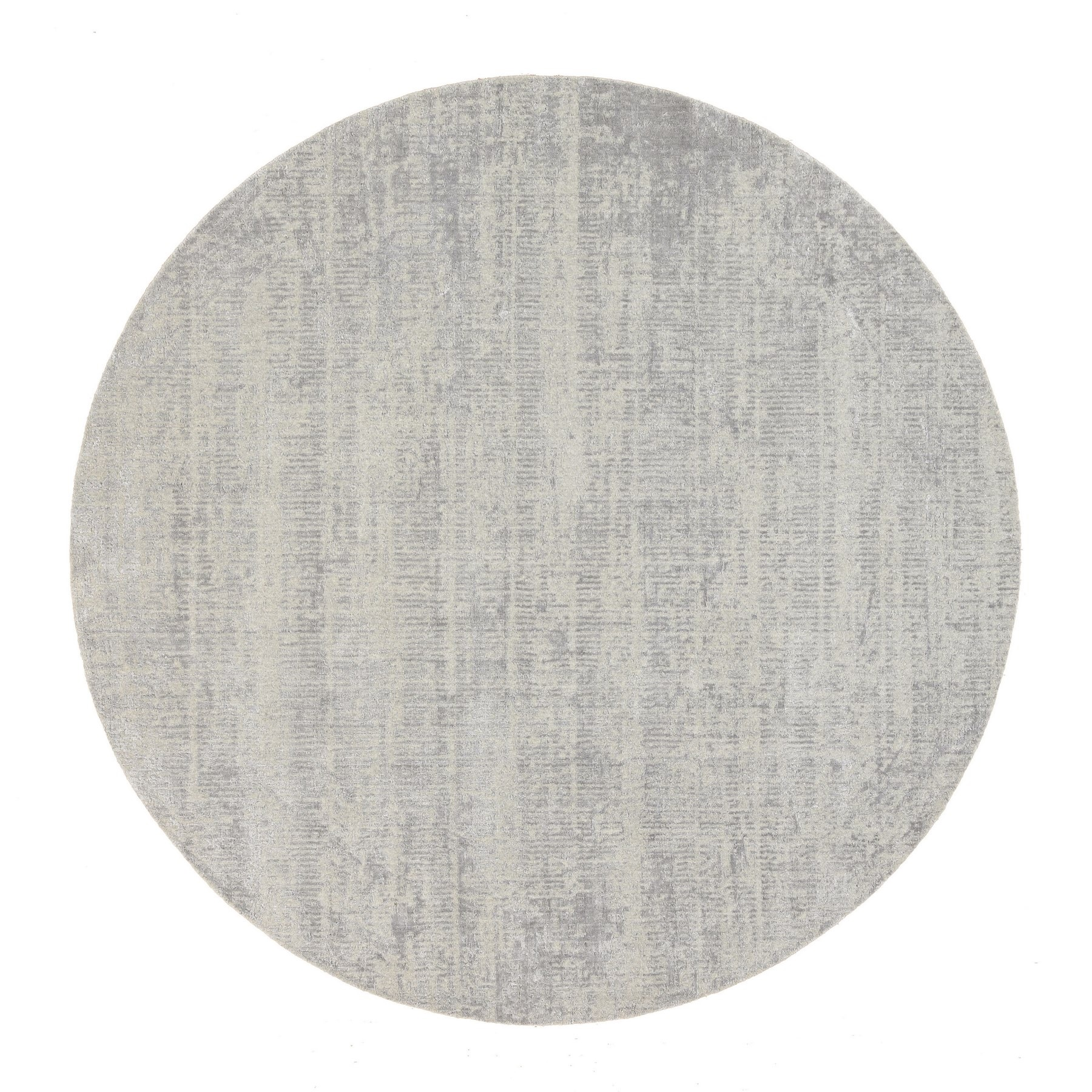 Mid Century Modern Collection Hand Loomed Grey Rug No: 1125728