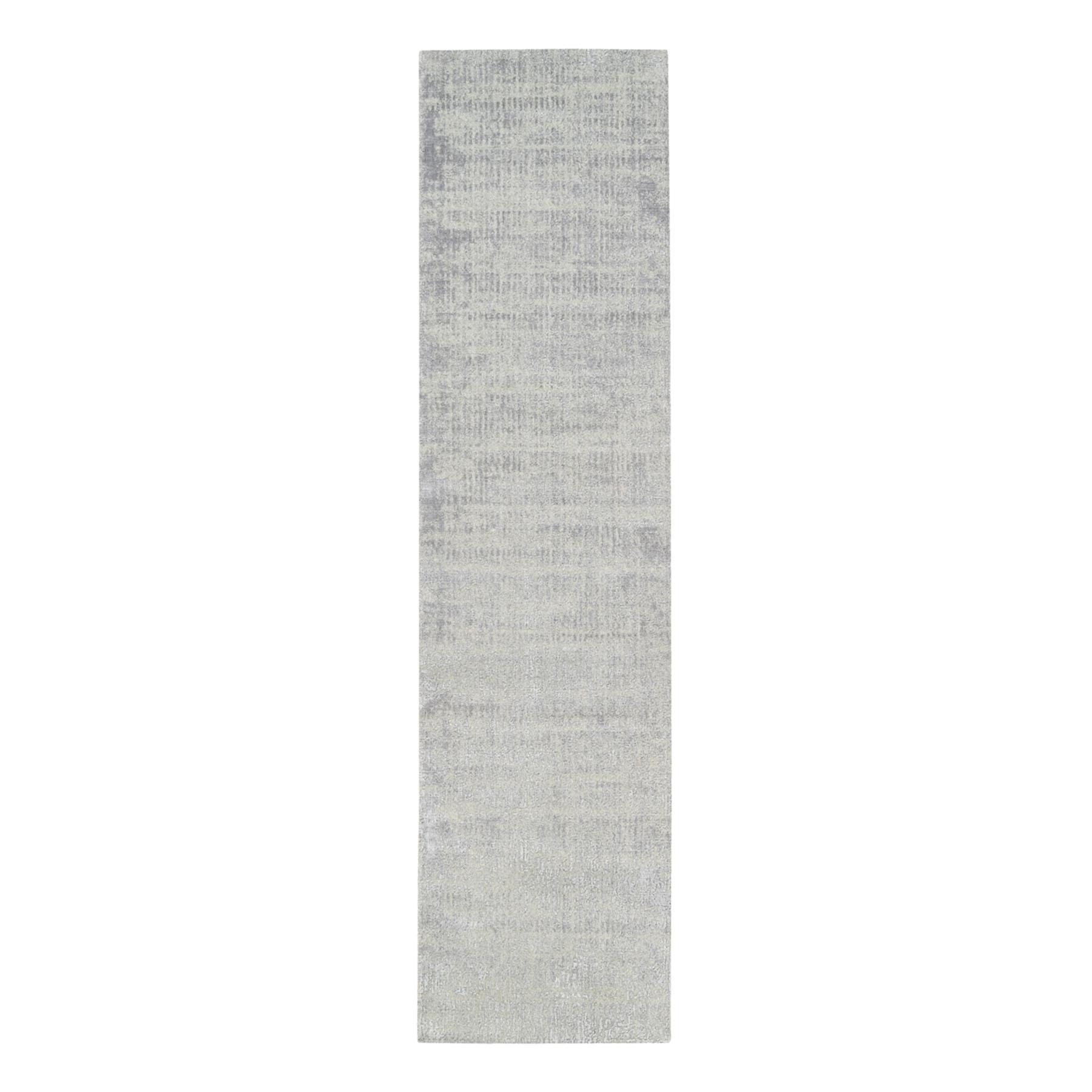 Mid Century Modern Collection Hand Loomed Grey Rug No: 1125690