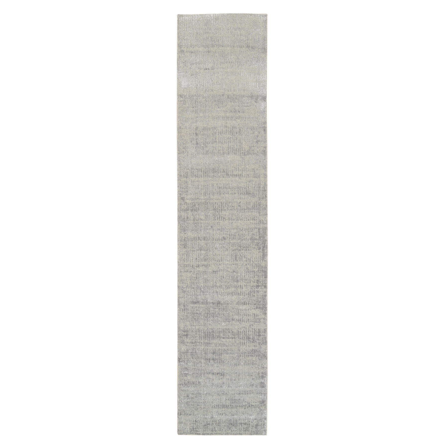 Mid Century Modern Collection Hand Loomed Grey Rug No: 1125706