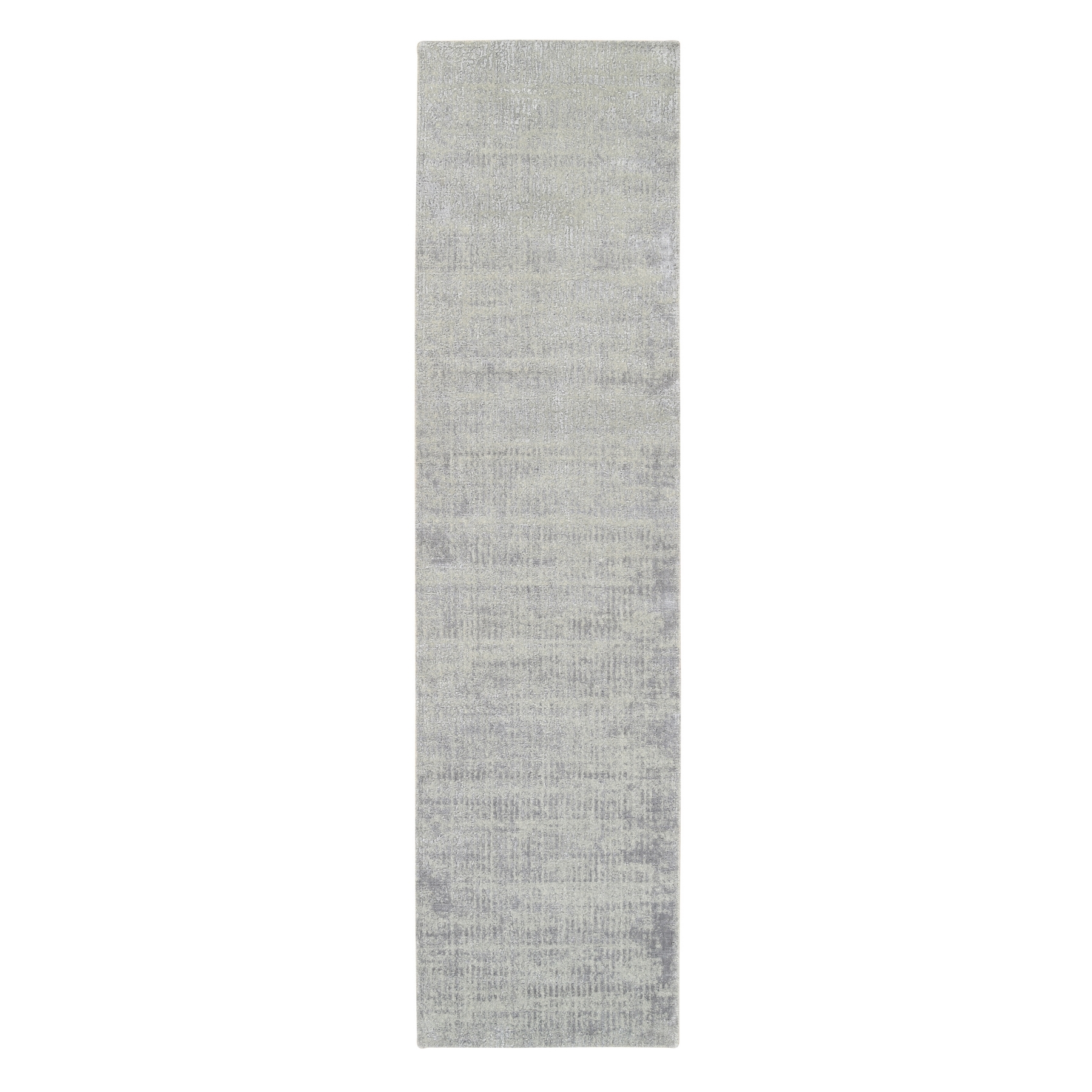 Mid Century Modern Collection Hand Loomed Grey Rug No: 1125694