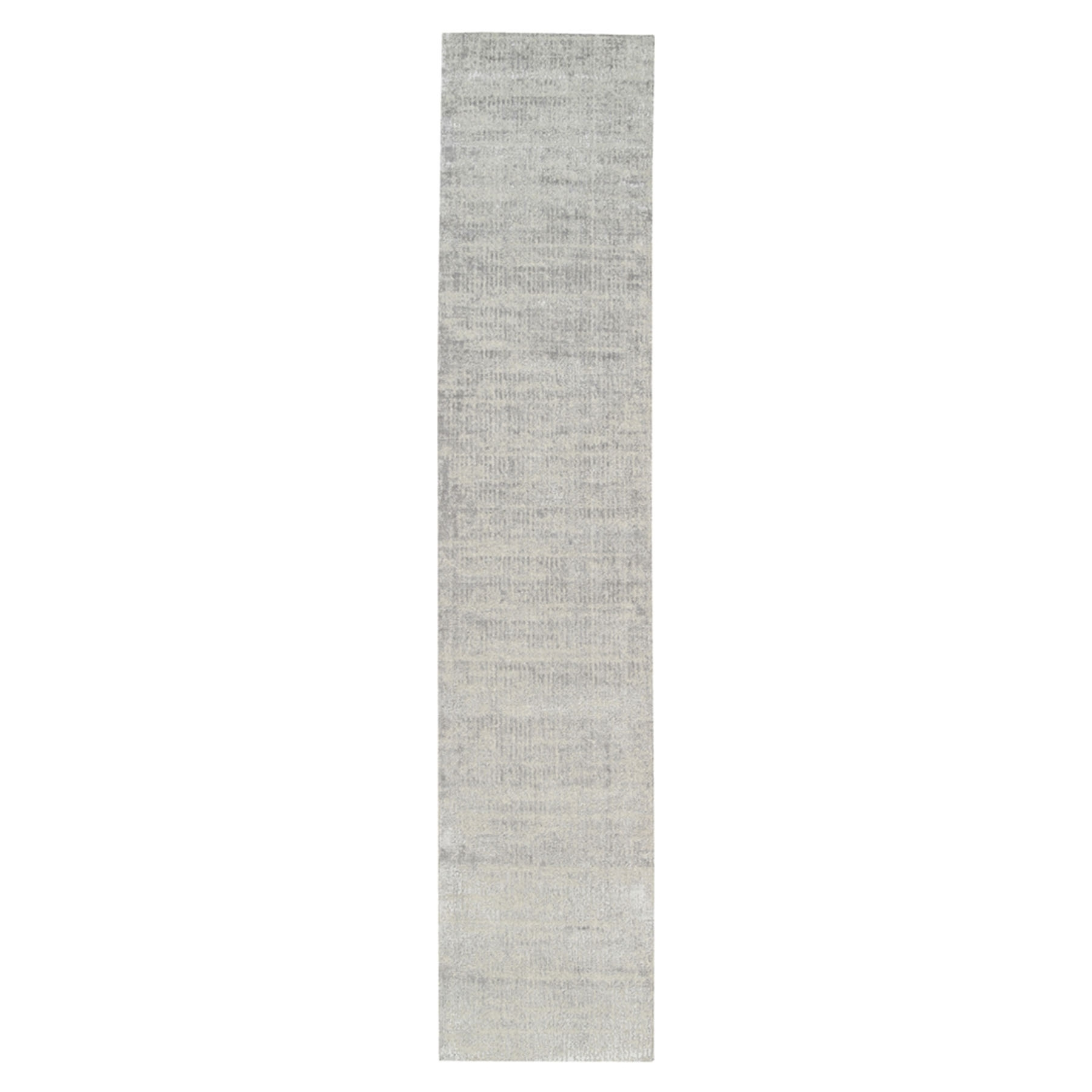 Mid Century Modern Collection Hand Loomed Grey Rug No: 1125686