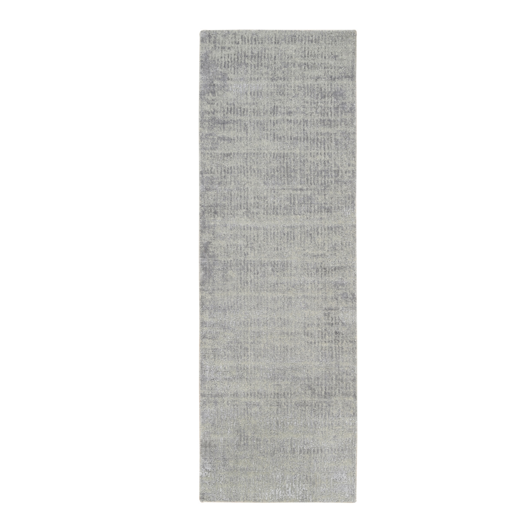 Mid Century Modern Collection Hand Loomed Grey Rug No: 1125700