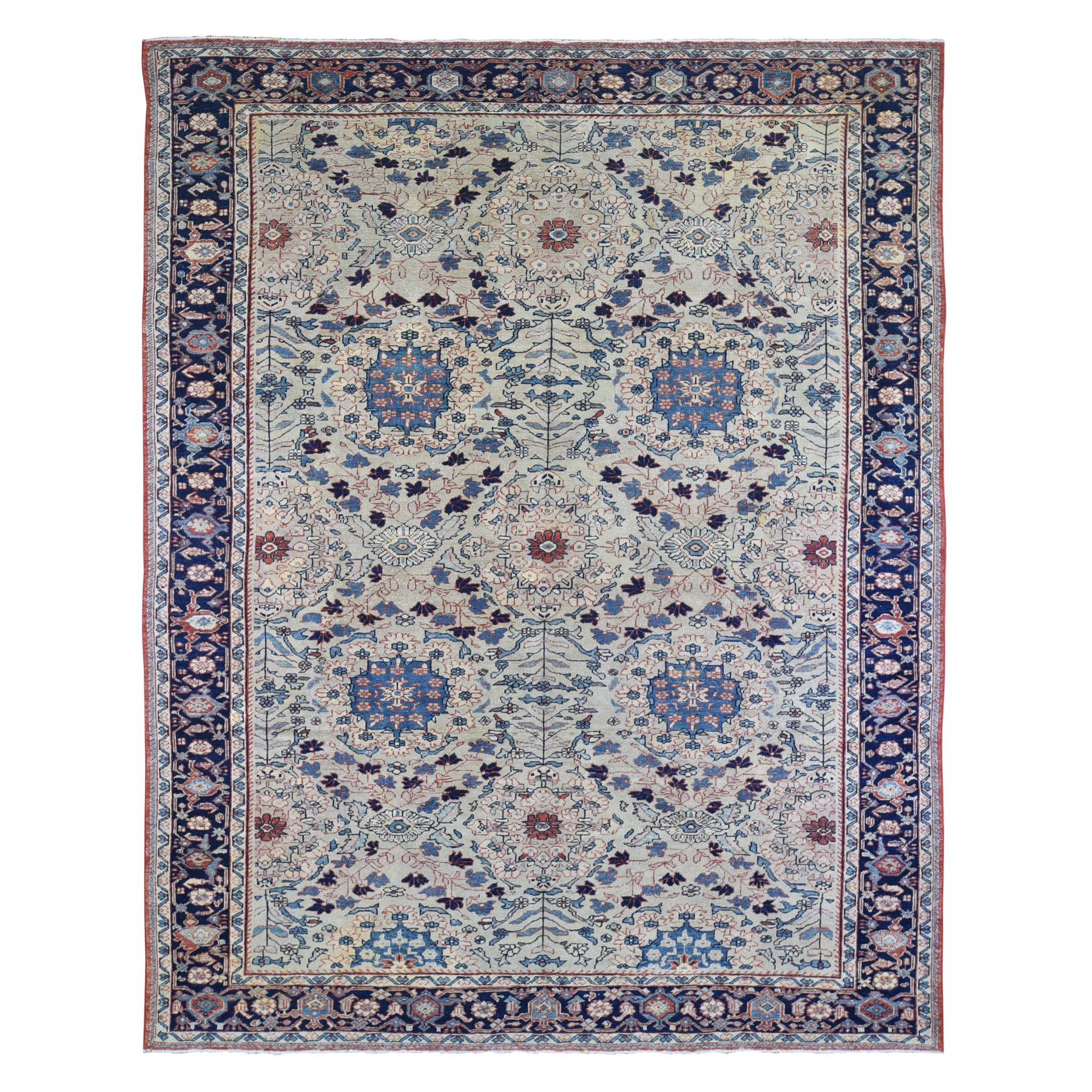 Antique Collection Hand Knotted Beige Rug No: 1133382