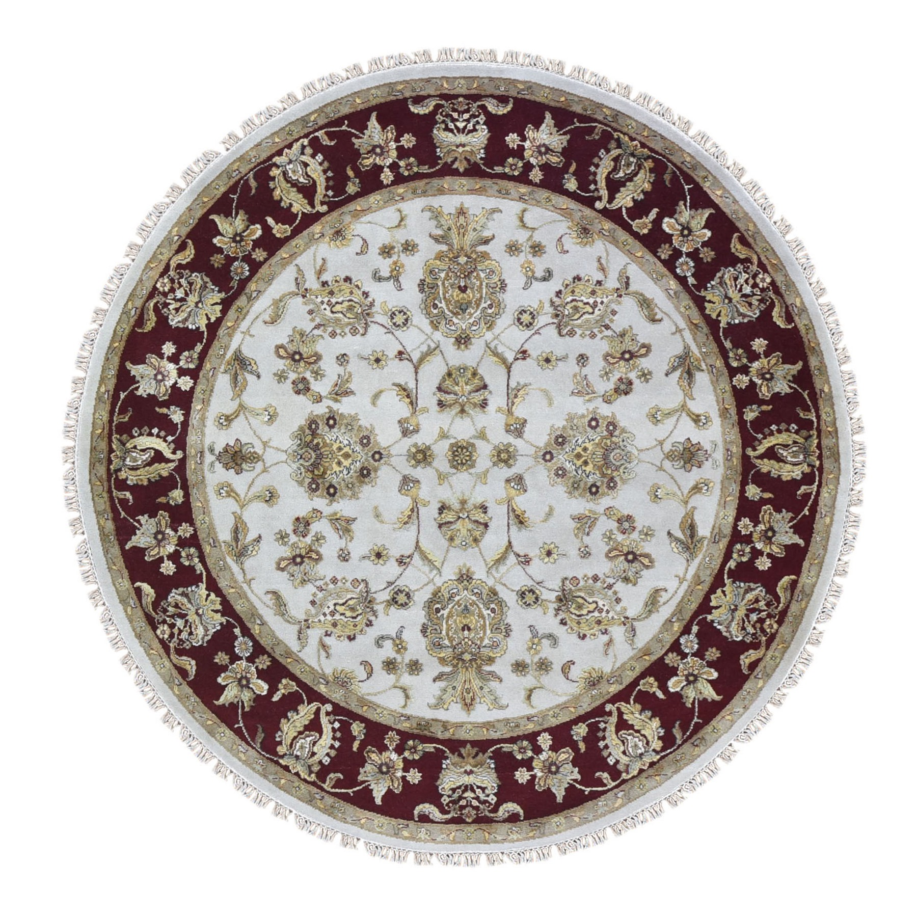 Pahlavi Collection Hand Knotted Ivory Rug No: 1133452