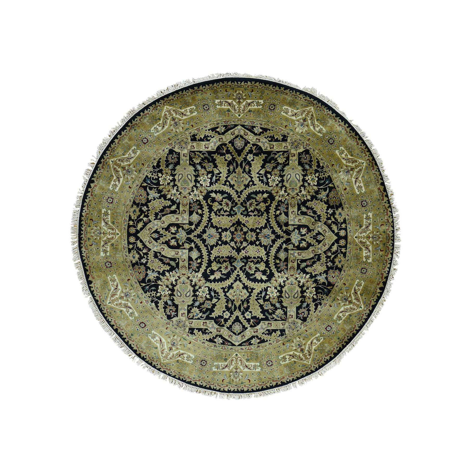 Pirniakan Collection Hand Knotted Black Rug No: 0171938