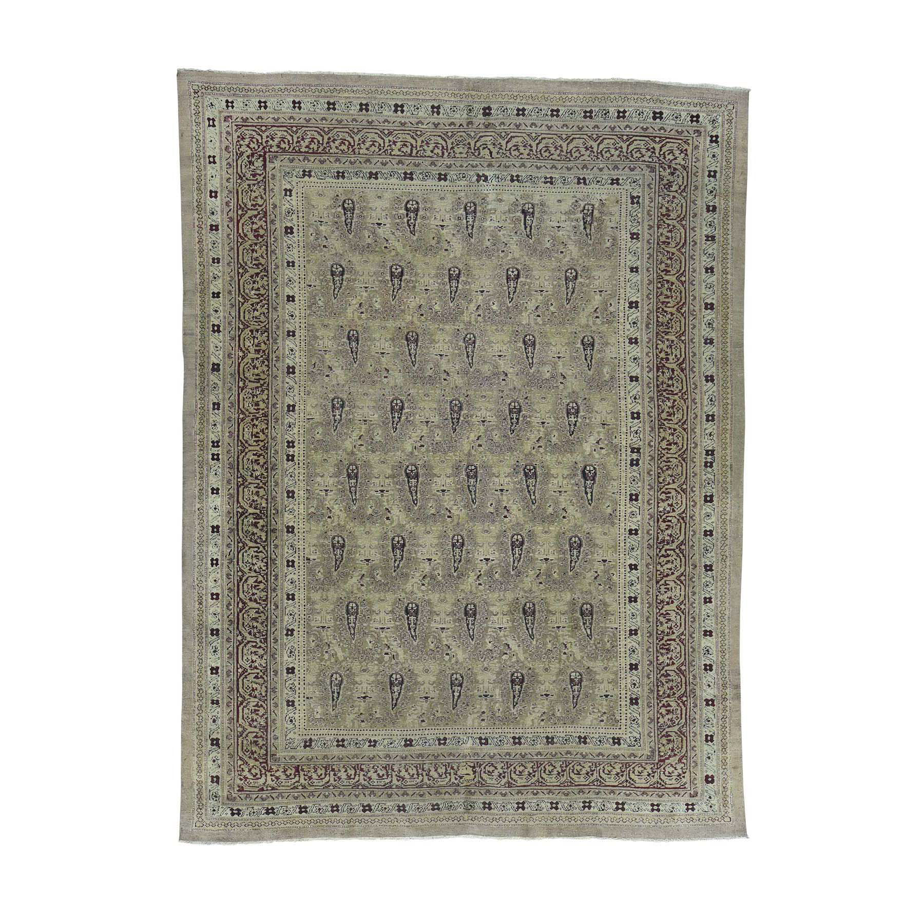 Antique Collection Hand Knotted Beige Rug No: 0171882