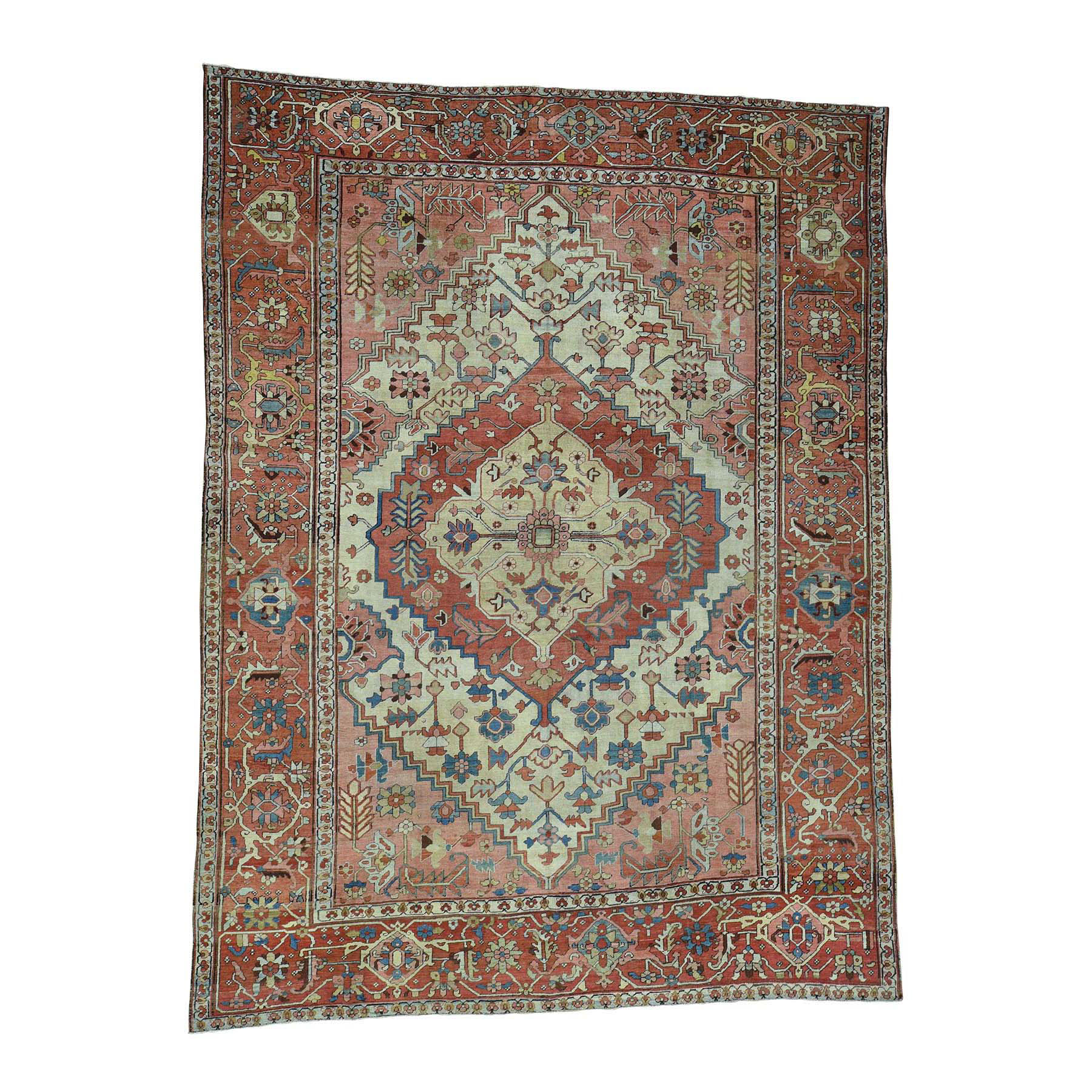 Antique Collection Hand Knotted Pink Rug No: 0171884
