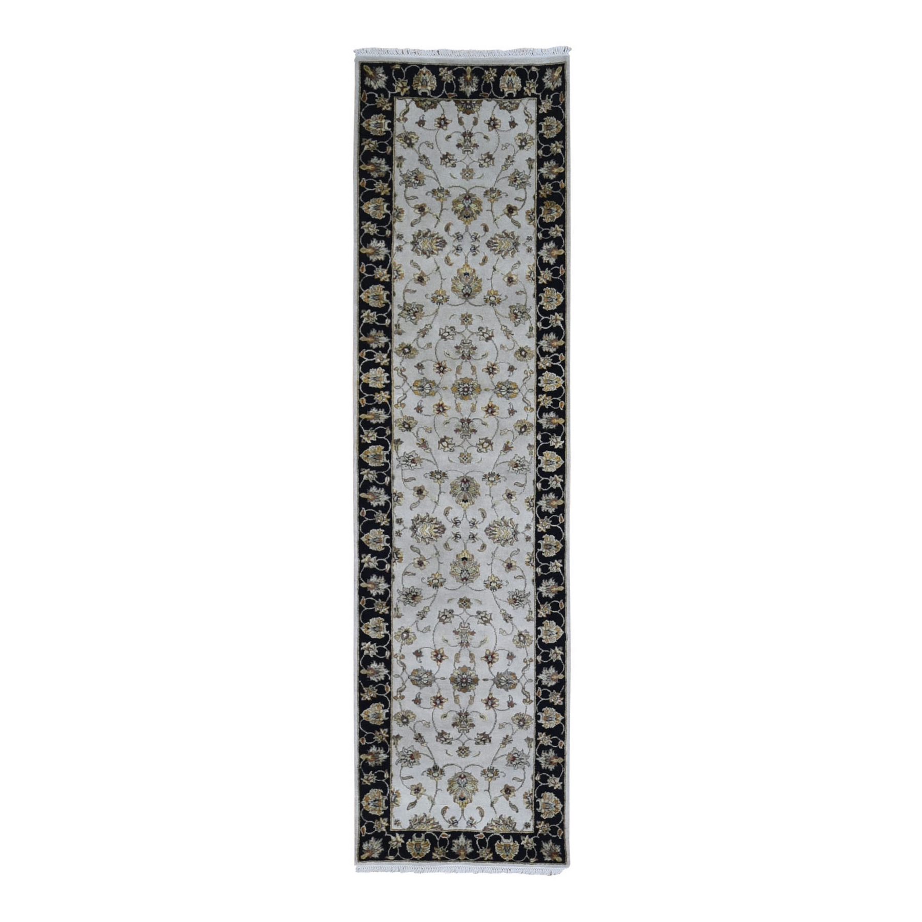 Pahlavi Collection Hand Knotted Ivory Rug No: 1133536