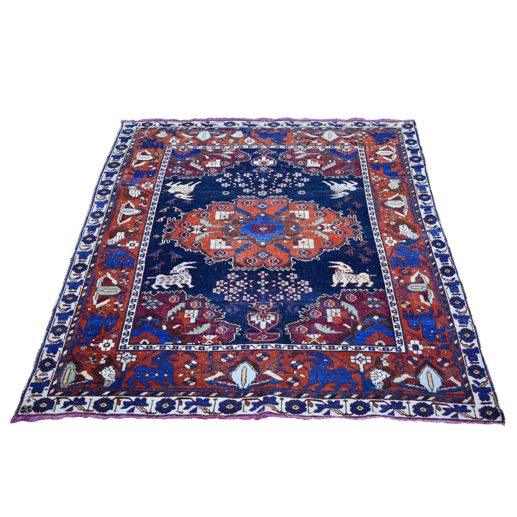 Classic Persian Collection Hand Knotted Blue Rug No: 1133494