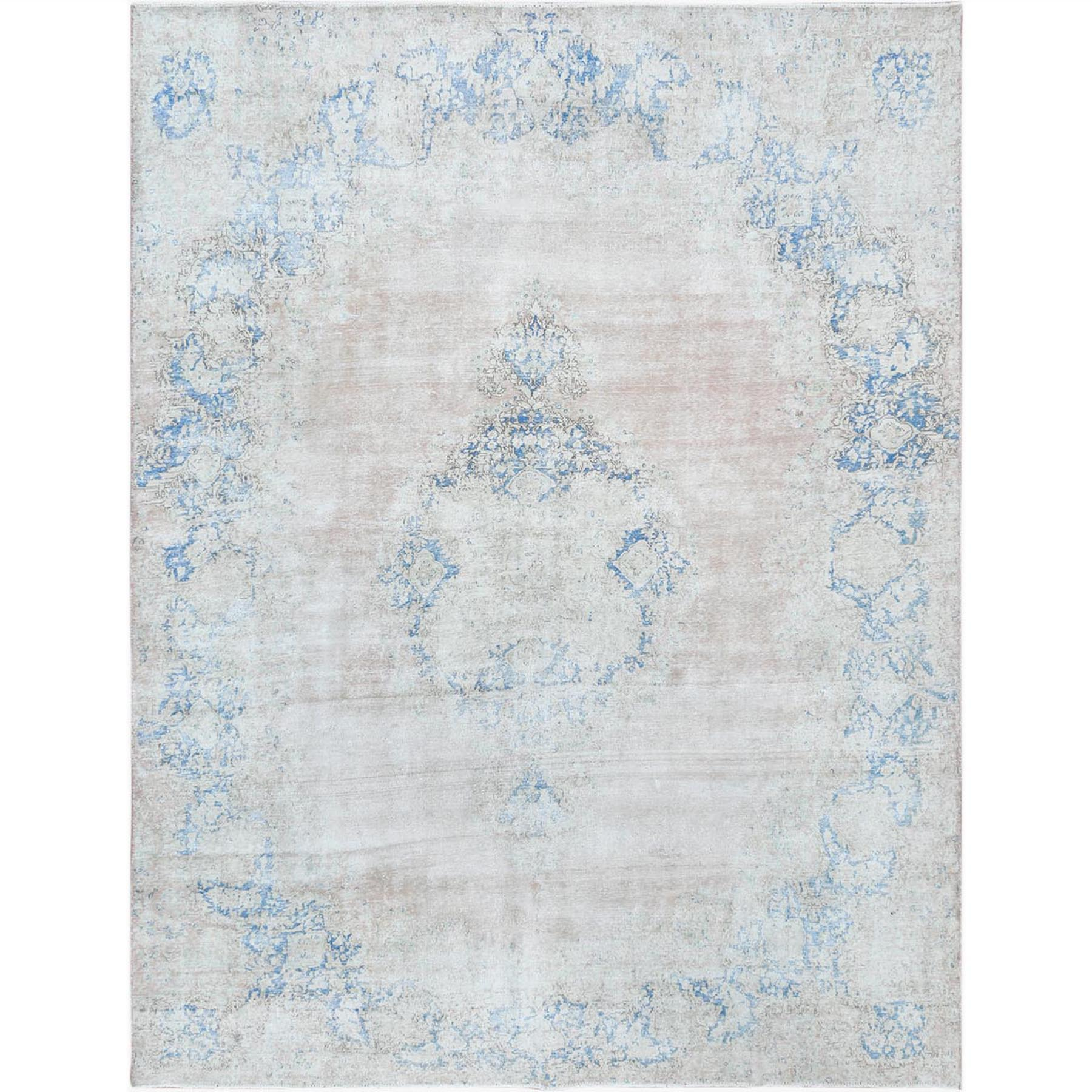 Fetneh Collection And Vintage Overdyed Collection Hand Knotted Pink Rug No: 1122650
