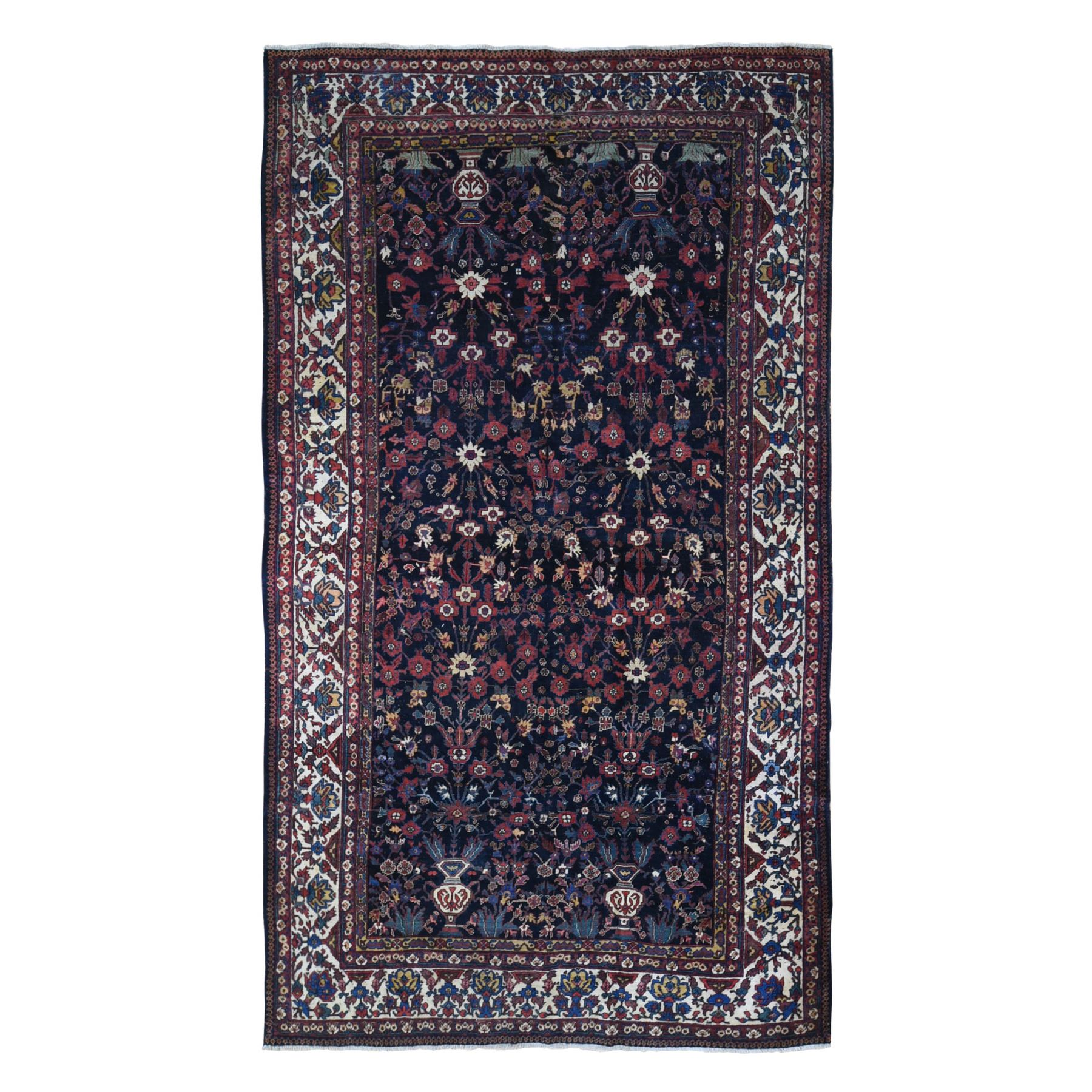 Antique Collection Hand Knotted Blue Rug No: 1133618