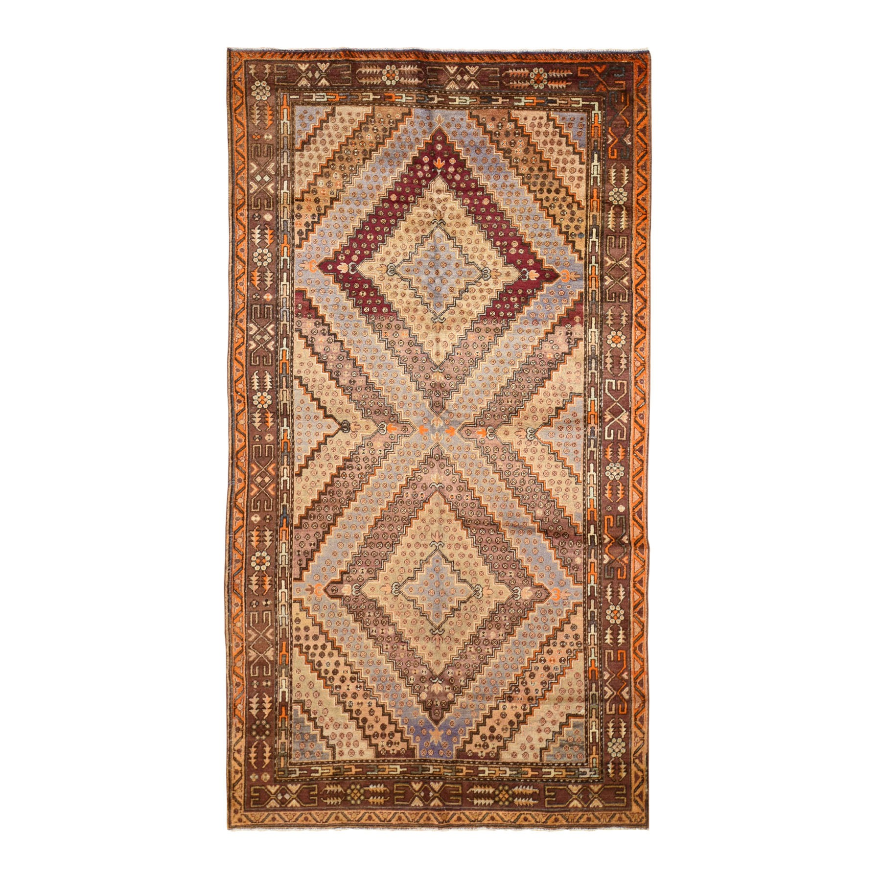 Antique Collection Hand Knotted Brown Rug No: 196988