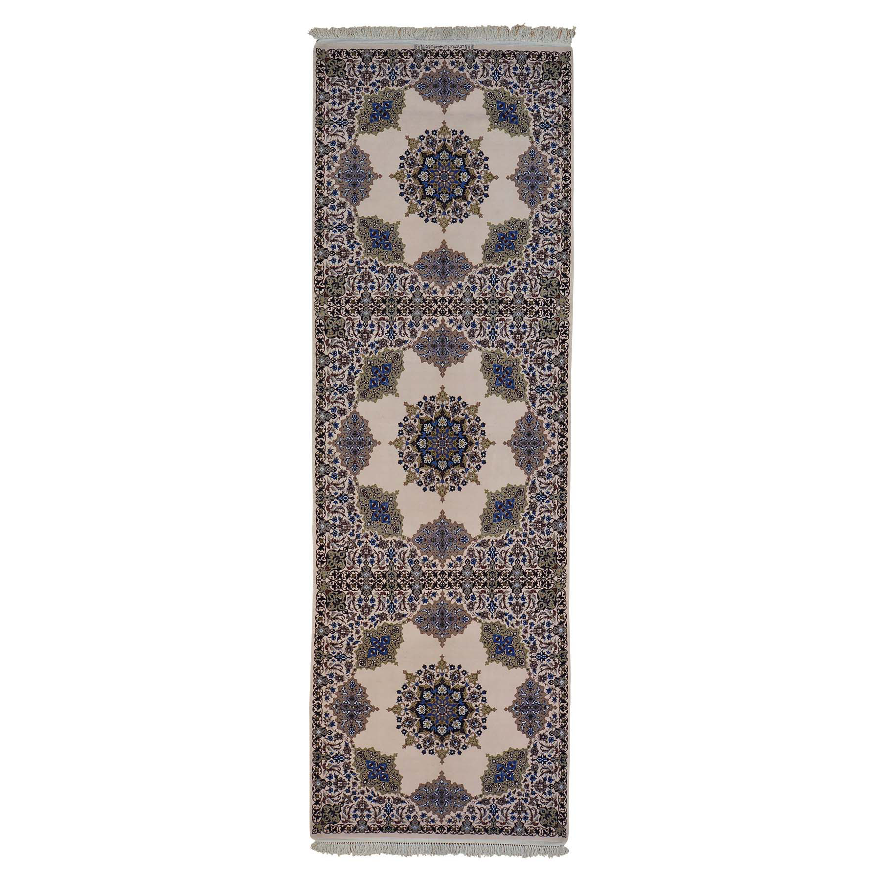Classic Persian Collection Hand Knotted Ivory Rug No: 0144028