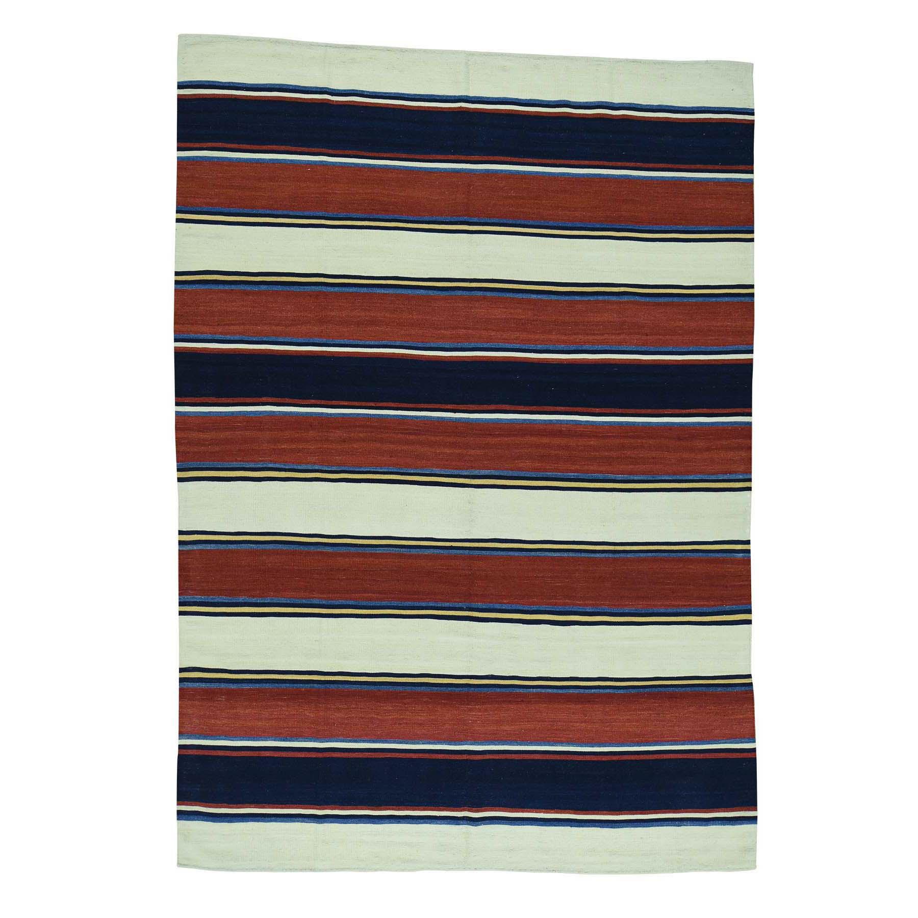 Fine Kilim Collection Hand Woven Multicolored Rug No: 0172320