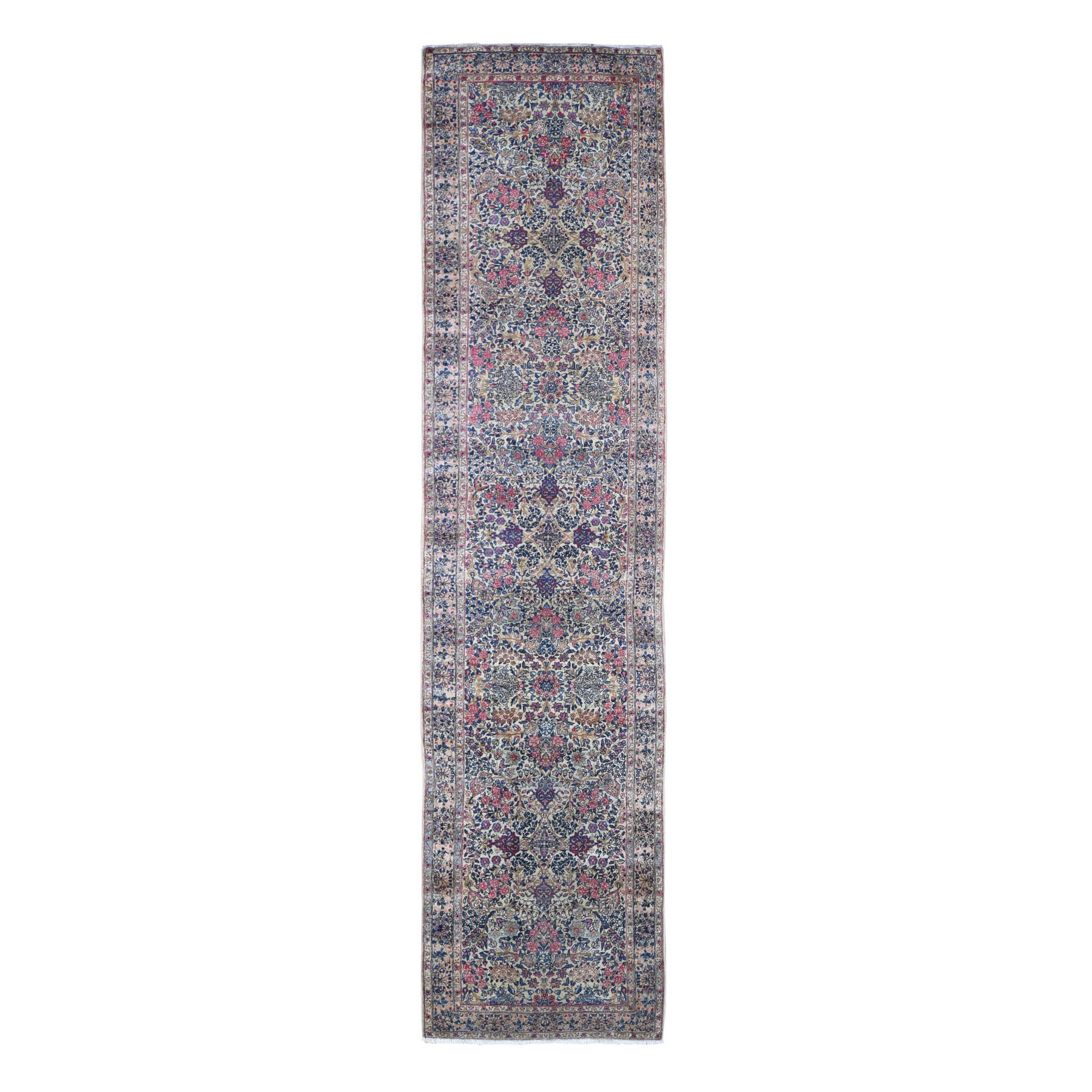 Antique Collection Hand Knotted Ivory Rug No: 1133680