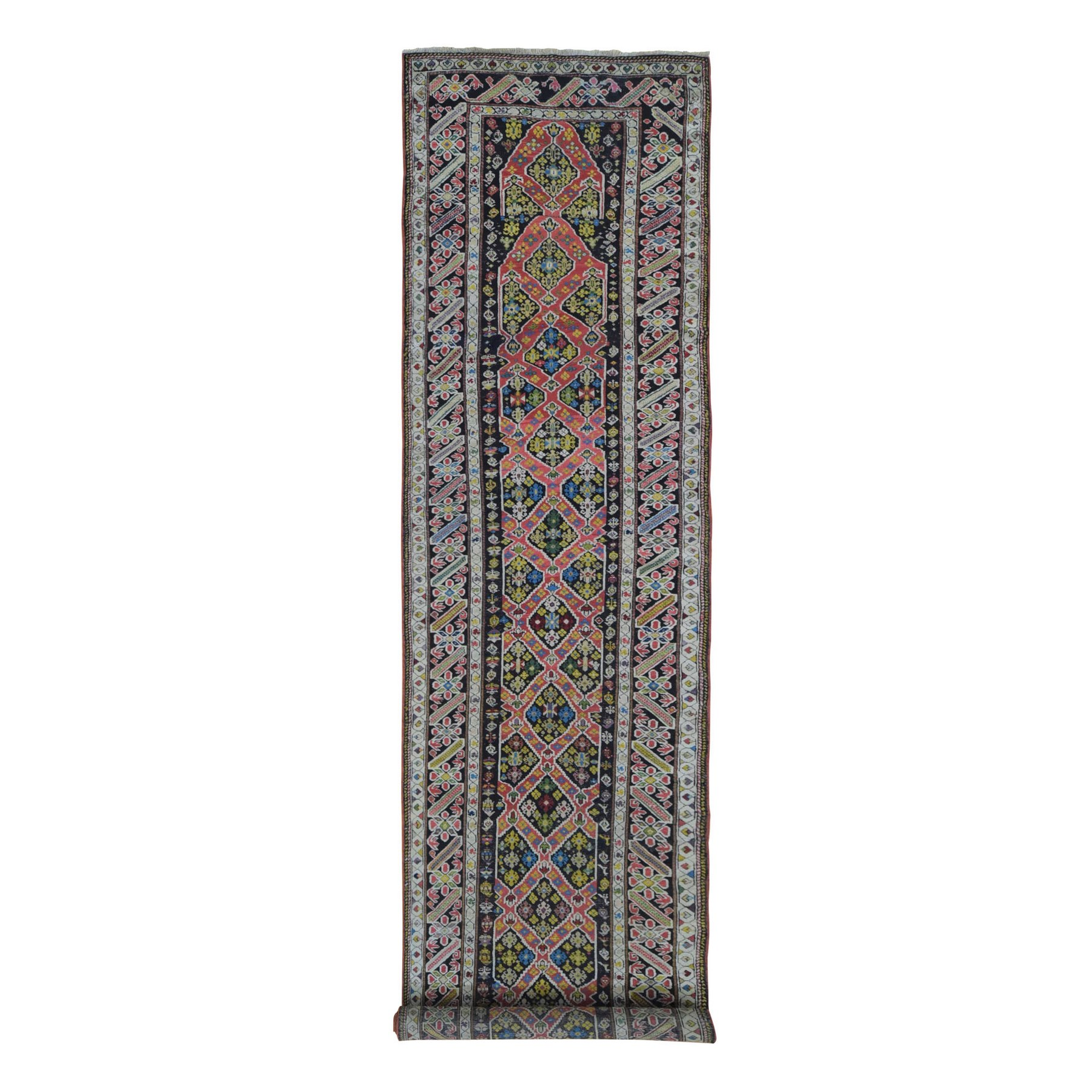 Antique Collection Hand Knotted Pink Rug No: 1133684
