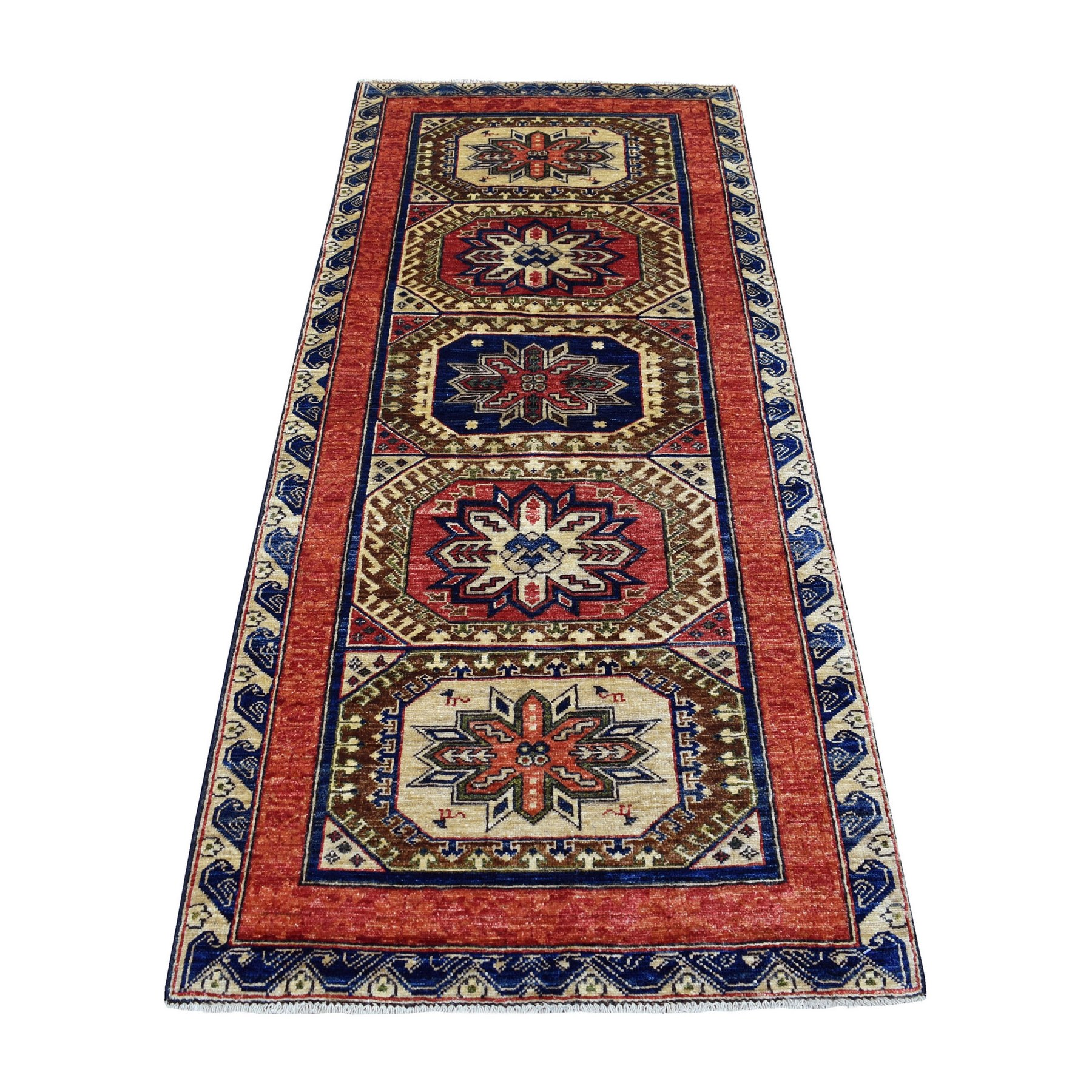 Nomadic And Village Collection Hand Knotted Orange Rug No: 1137556