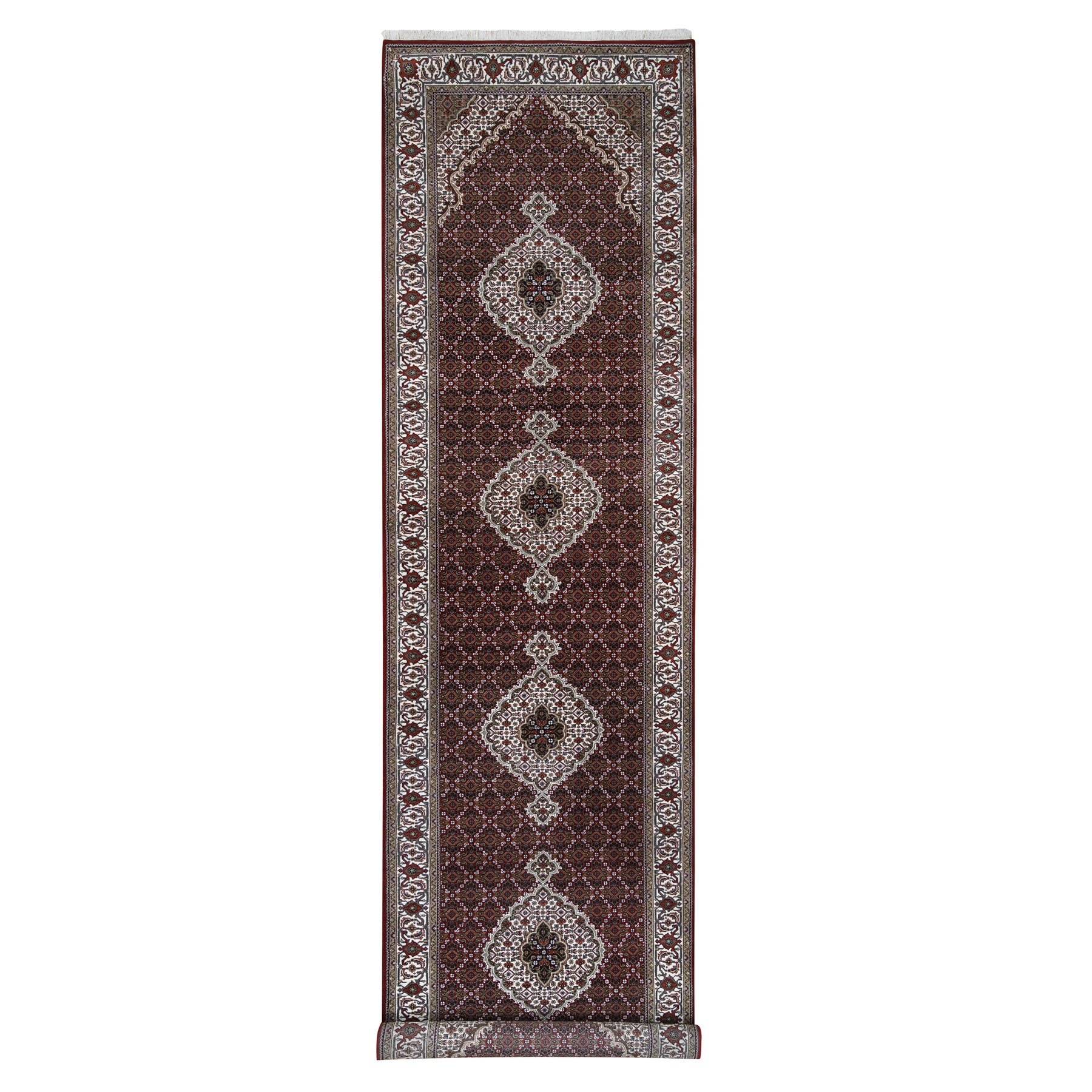 Pirniakan Collection Hand Knotted Red Rug No: 1126580