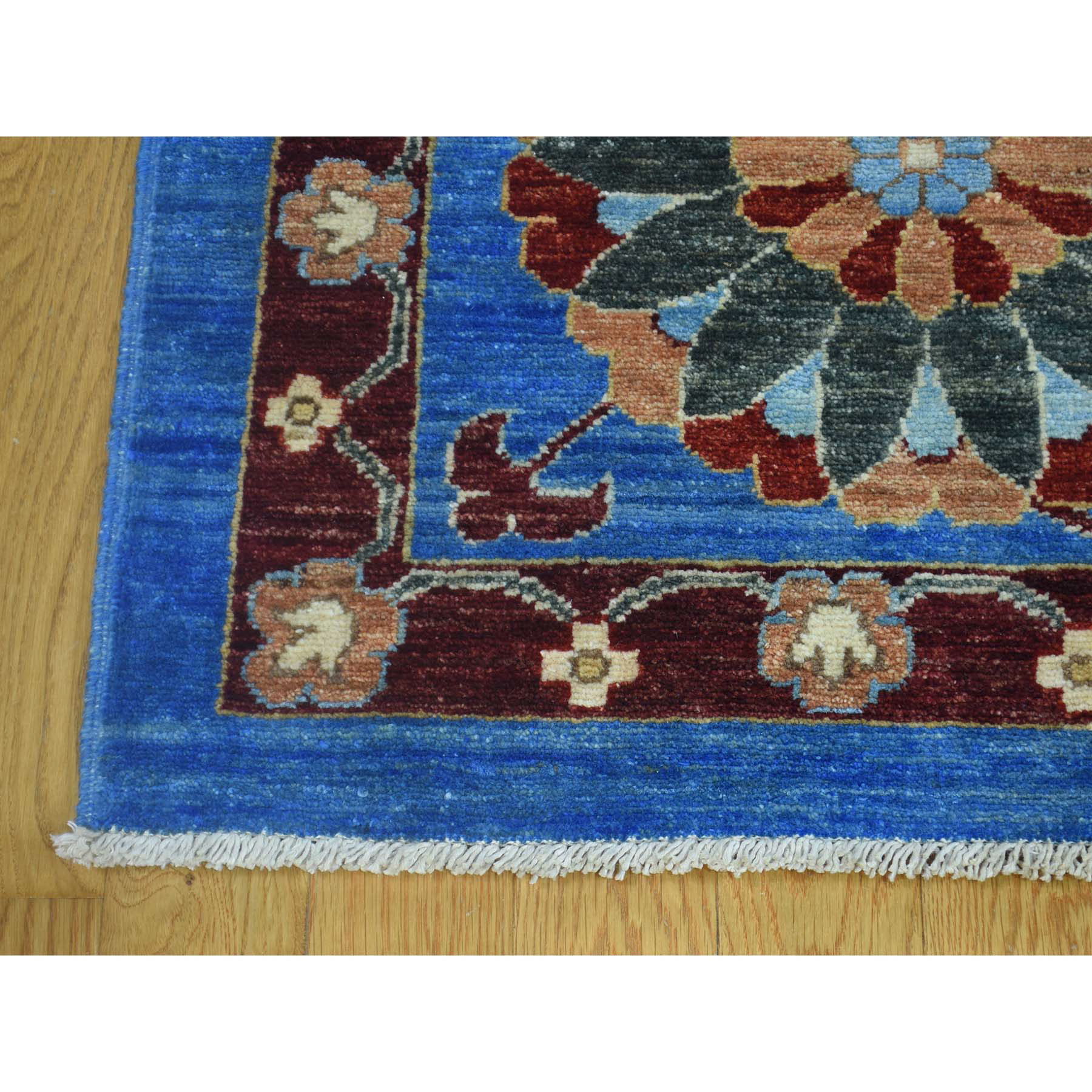 Eclectic and Bohemian Collection Hand Knotted Blue 0173558 Rug