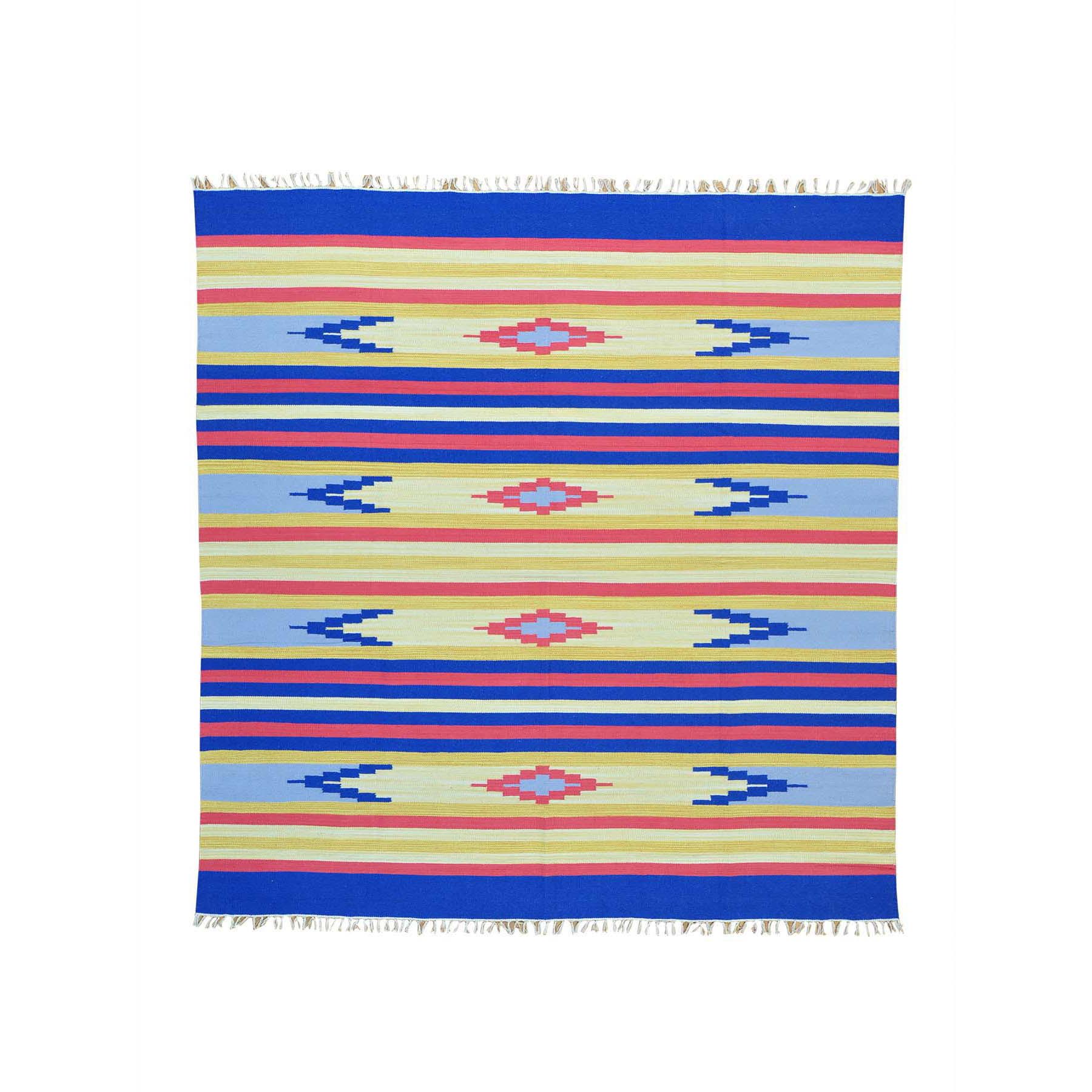 Fine Kilim Collection Hand Woven Multicolored Rug No: 152108