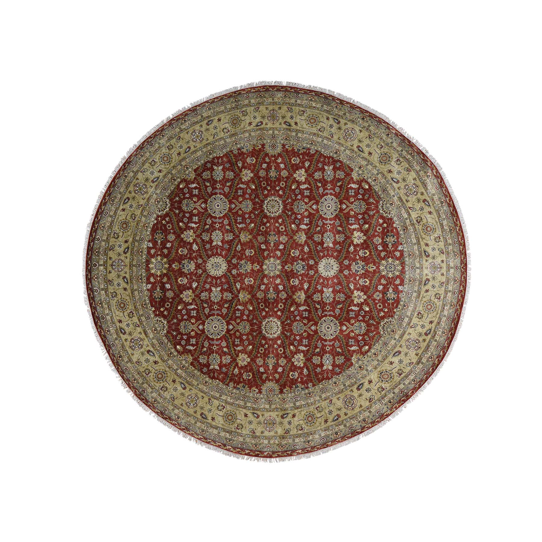 Pirniakan Collection Hand Knotted Red Rug No: 176656