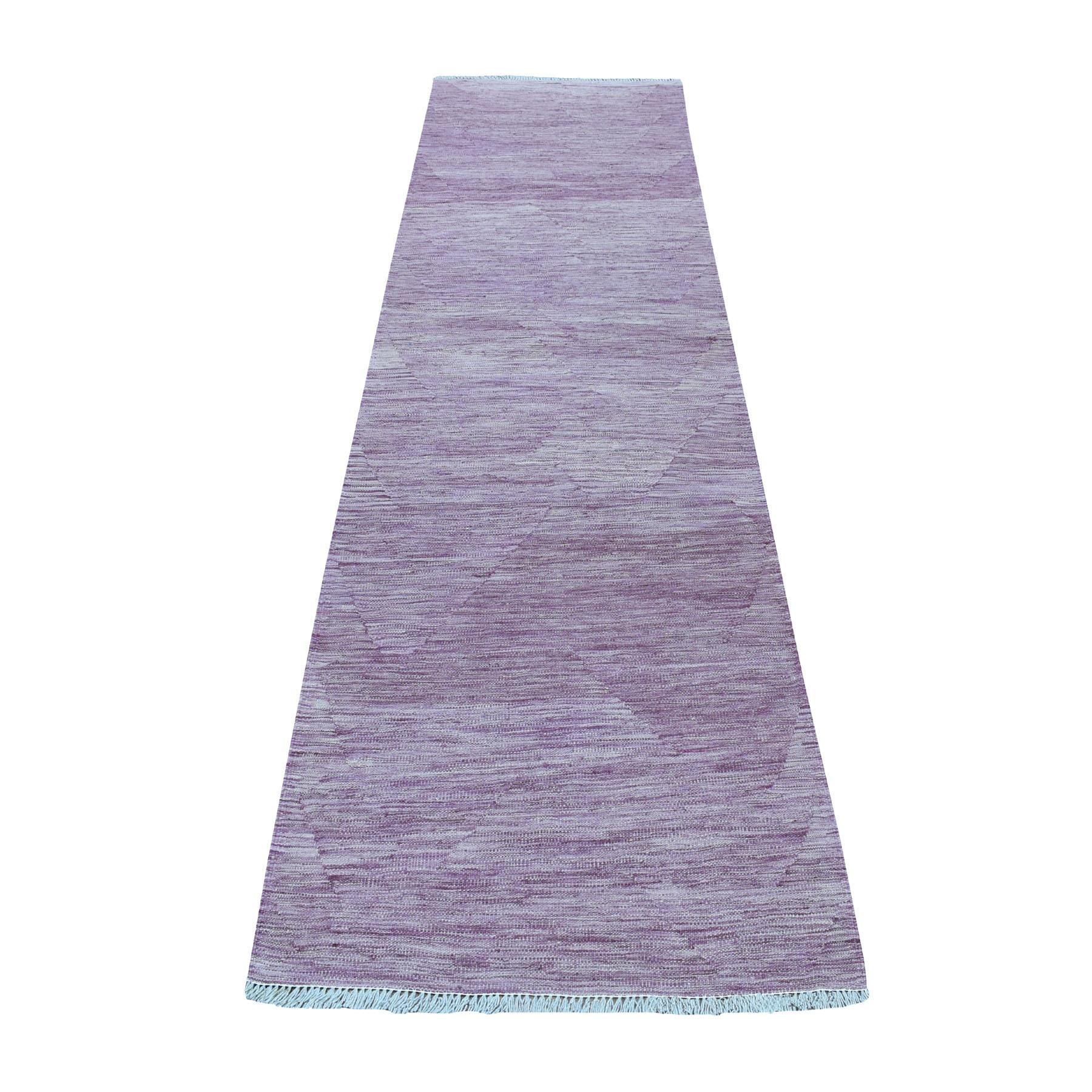 Fine Kilim Collection Hand Woven Purple Rug No: 1107664