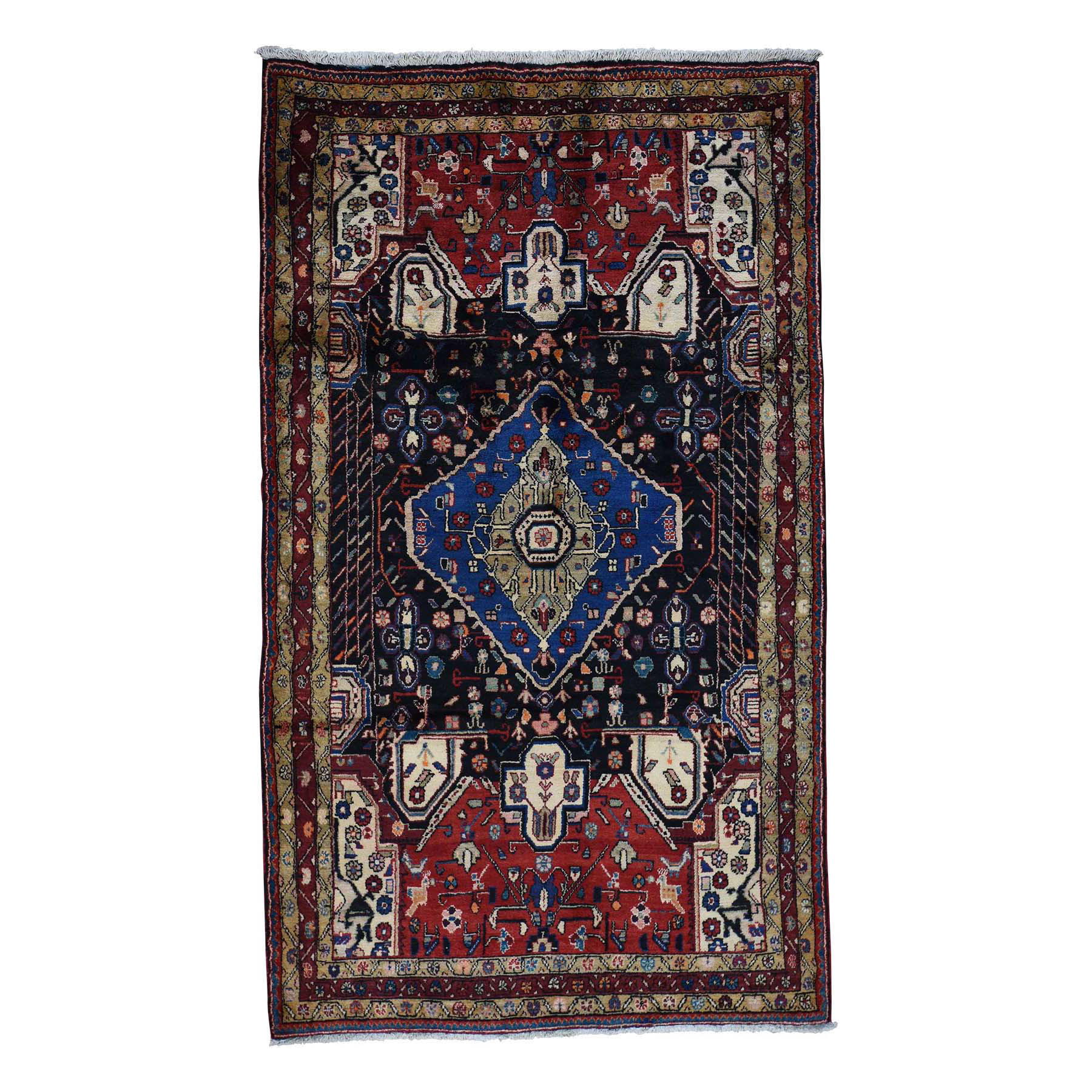 Classic Persian Collection Hand Knotted Multicolored Rug No: 0176048