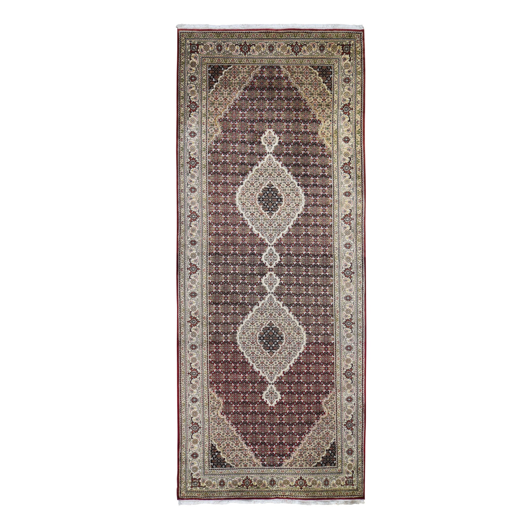 Pirniakan Collection Hand Knotted Red Rug No: 198092