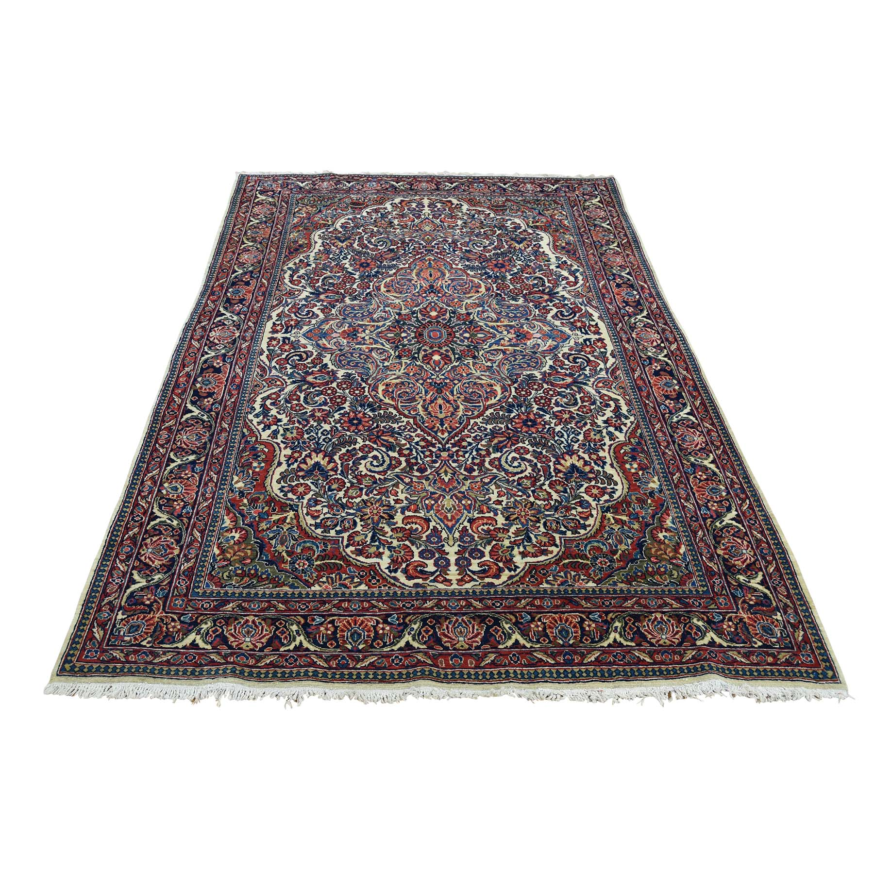 Antique Collection Hand Knotted Beige Rug No: 0178150