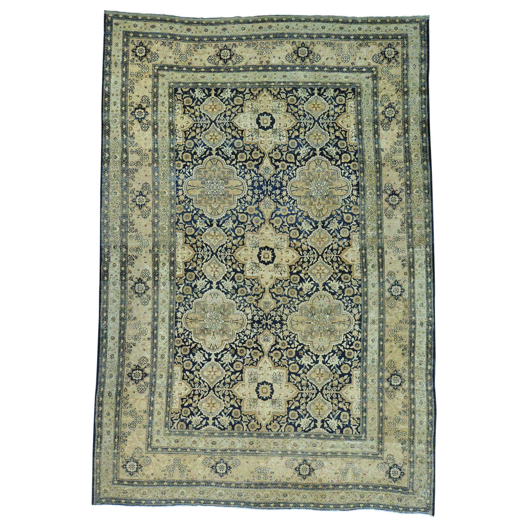 Classic Persian Collection Hand Knotted Blue Rug No: 0151722