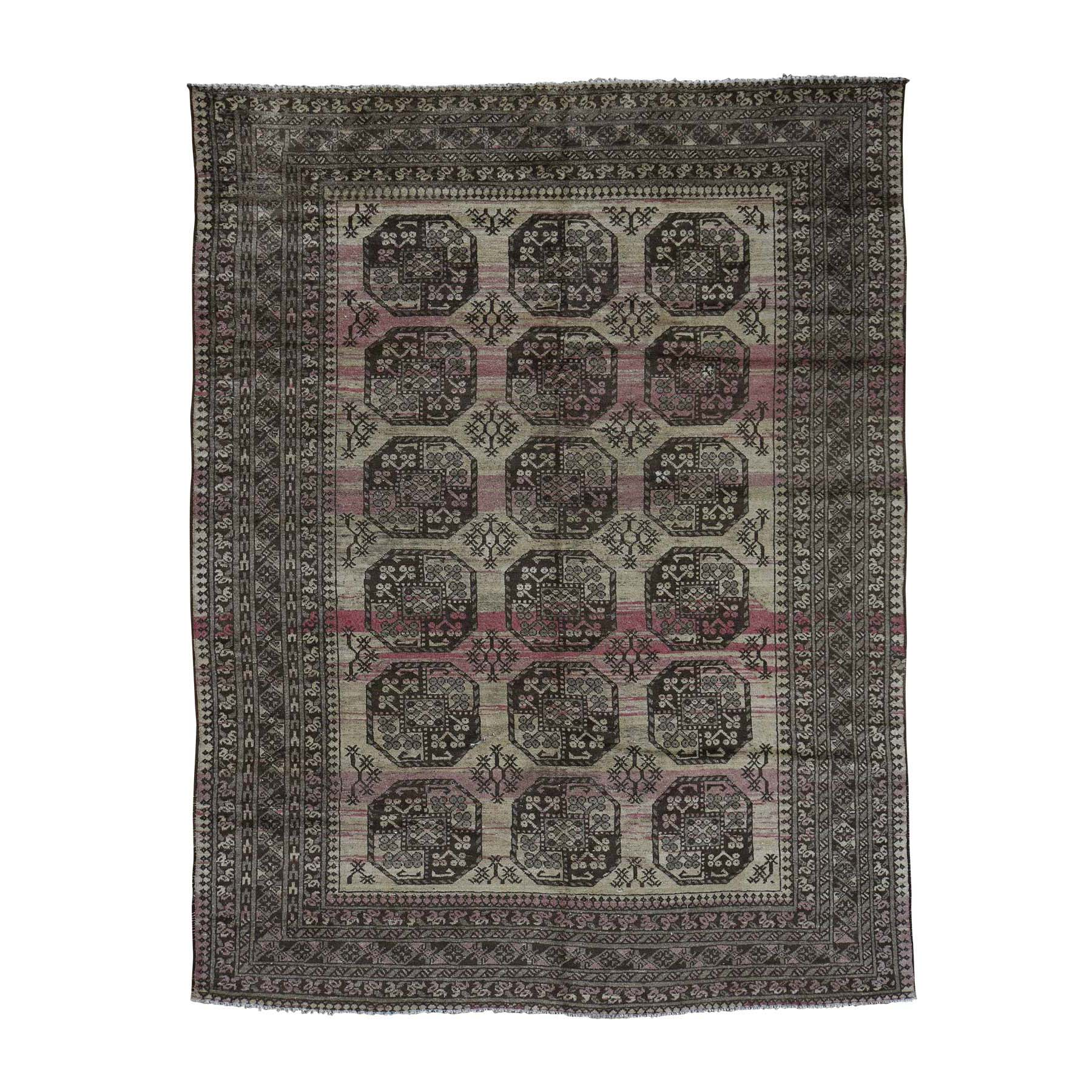 Nomadic And Village Collection Hand Knotted Beige Rug No: 0177786