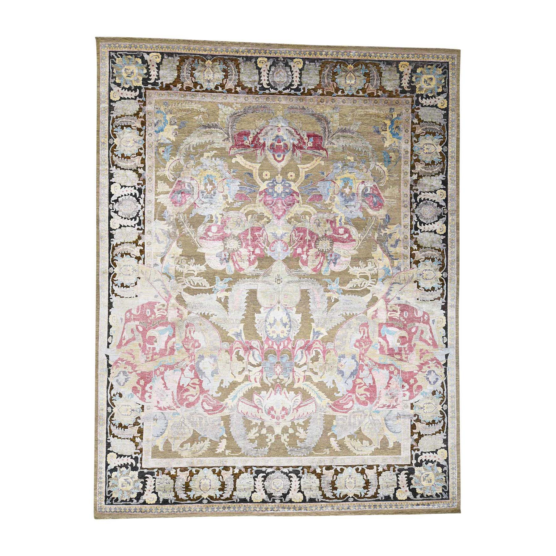 William Morris And Victorian Collection Hand Knotted Beige Rug No: 0177932