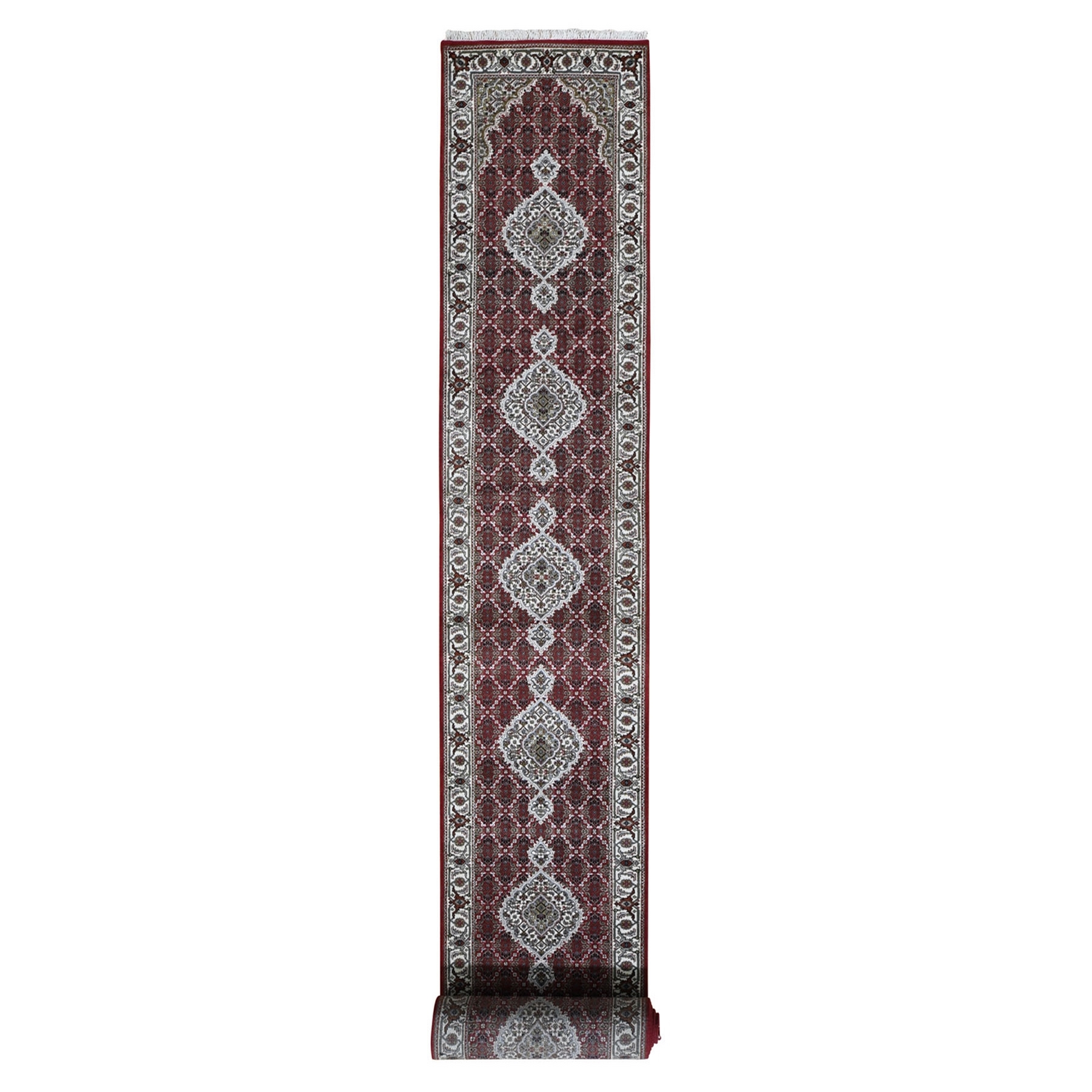 Pirniakan Collection Hand Knotted Red Rug No: 199088