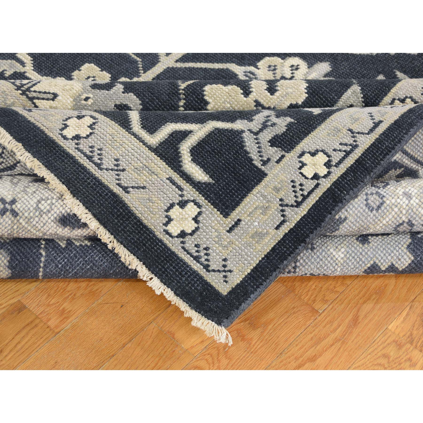 Agra And Turkish Collection Hand Knotted Blue 0178050 Rug