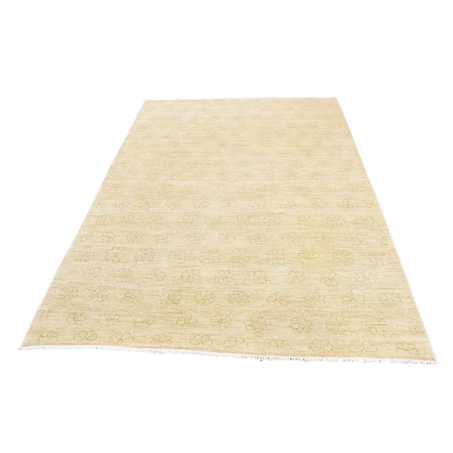 Deep discounted Collection Hand Knotted Beige Rug No: 0178906