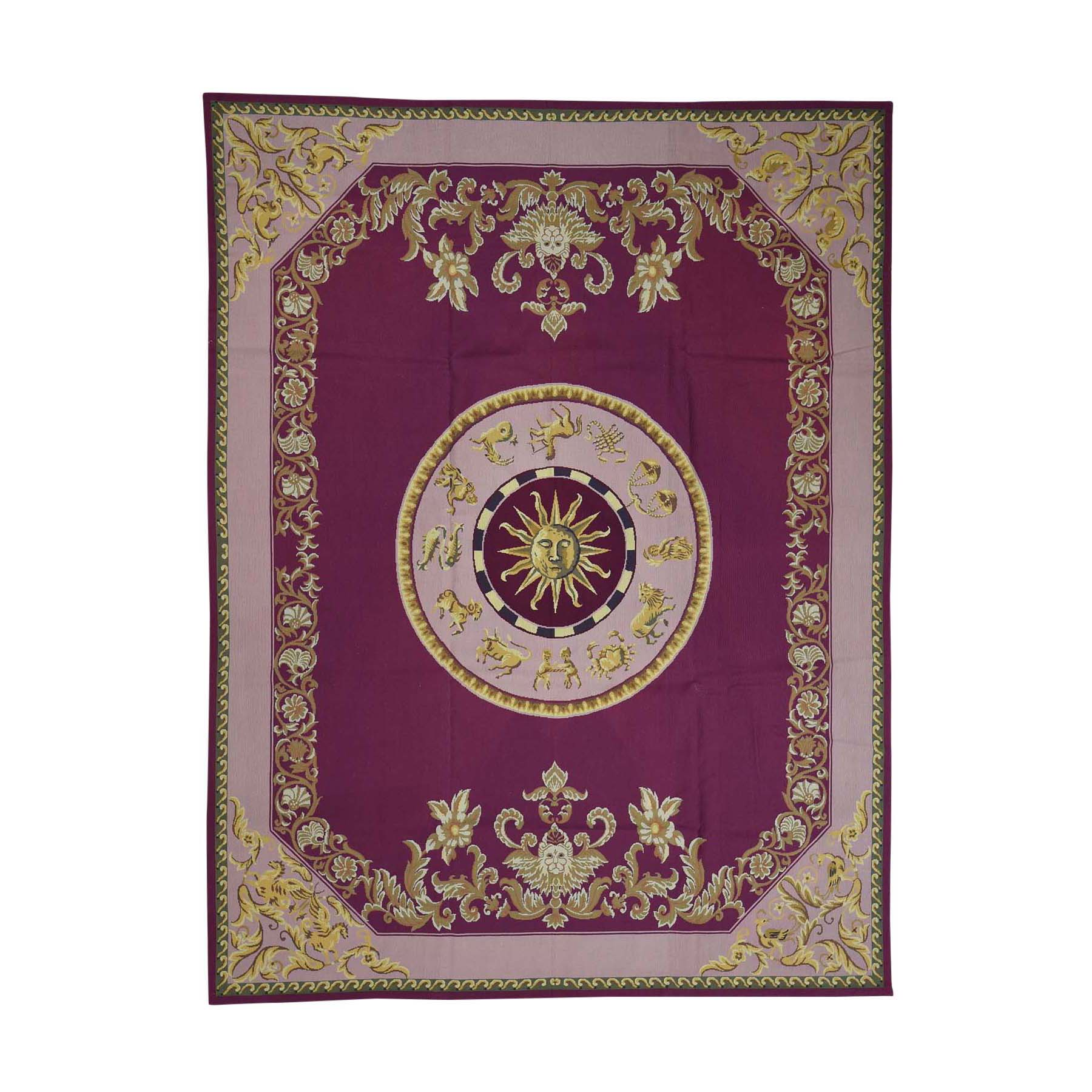 Deep discounted Collection Hand Knotted Purple Rug No: 0178910
