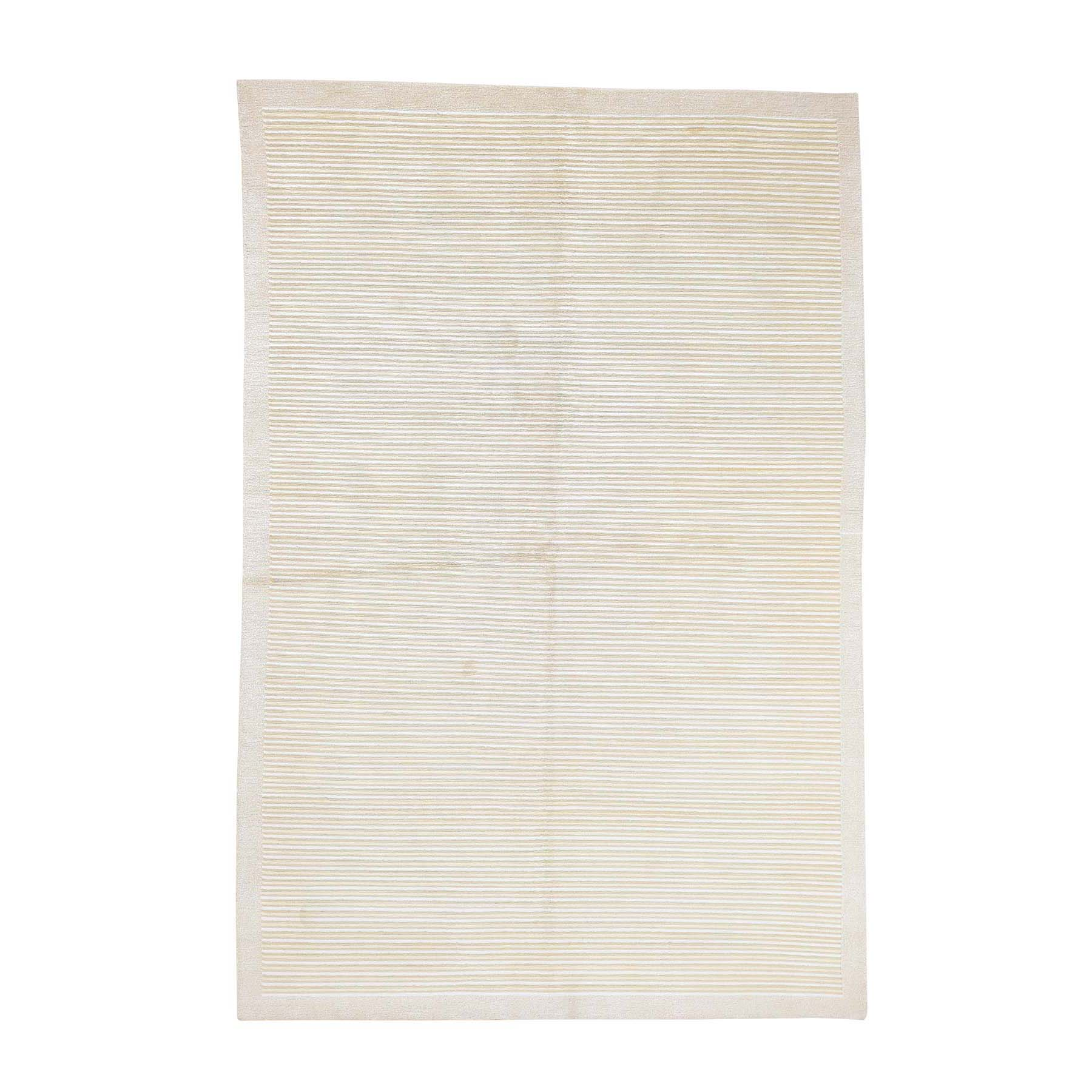 Deep discounted Collection Hand Knotted Beige Rug No: 0178912