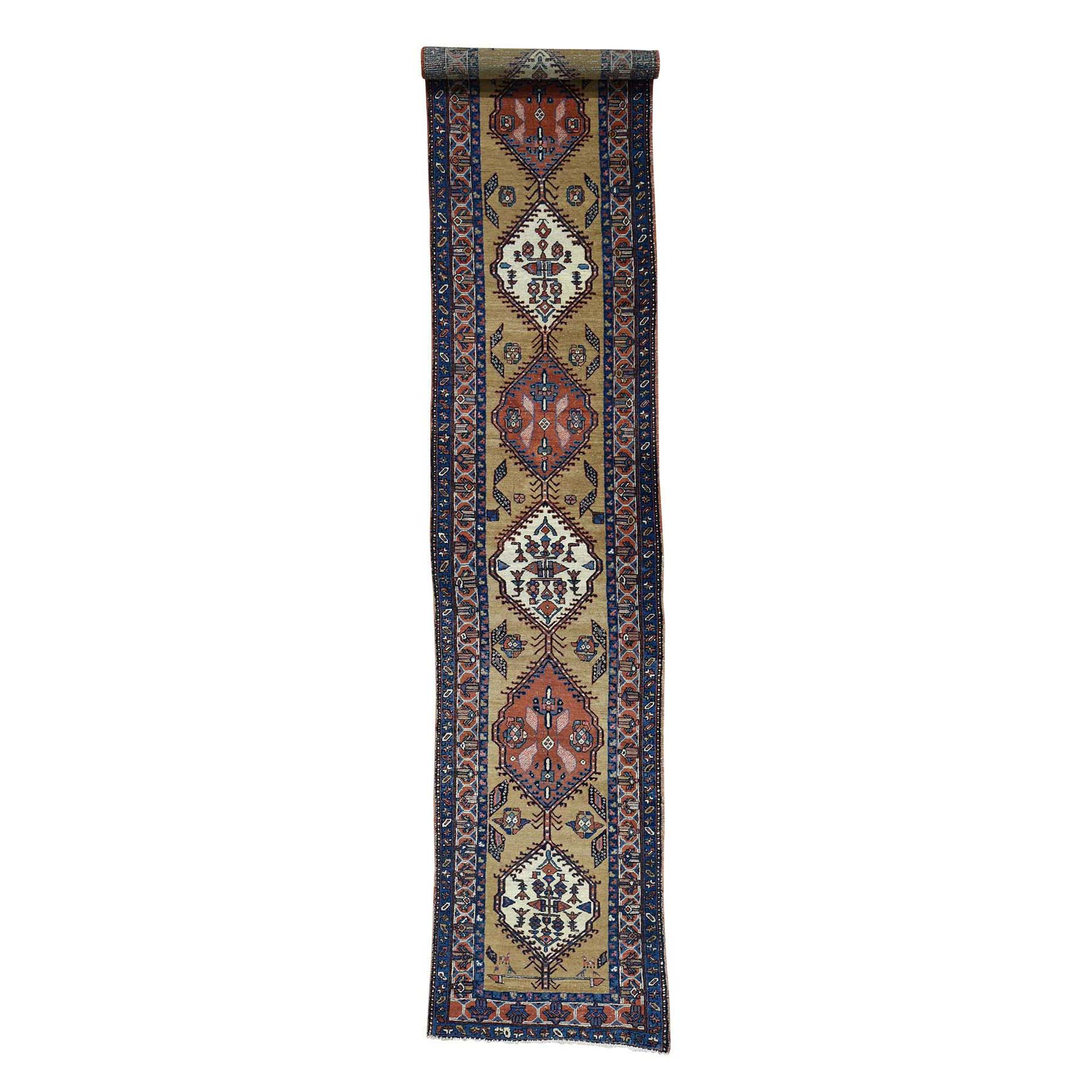 Antique Collection Hand Knotted Brown Rug No: 178944