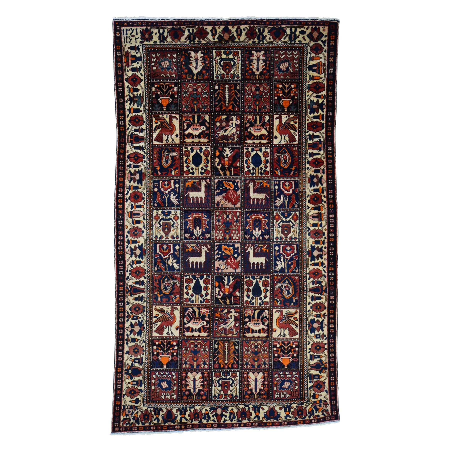 Classic Persian Collection Hand Knotted Multicolored Rug No: 0178988