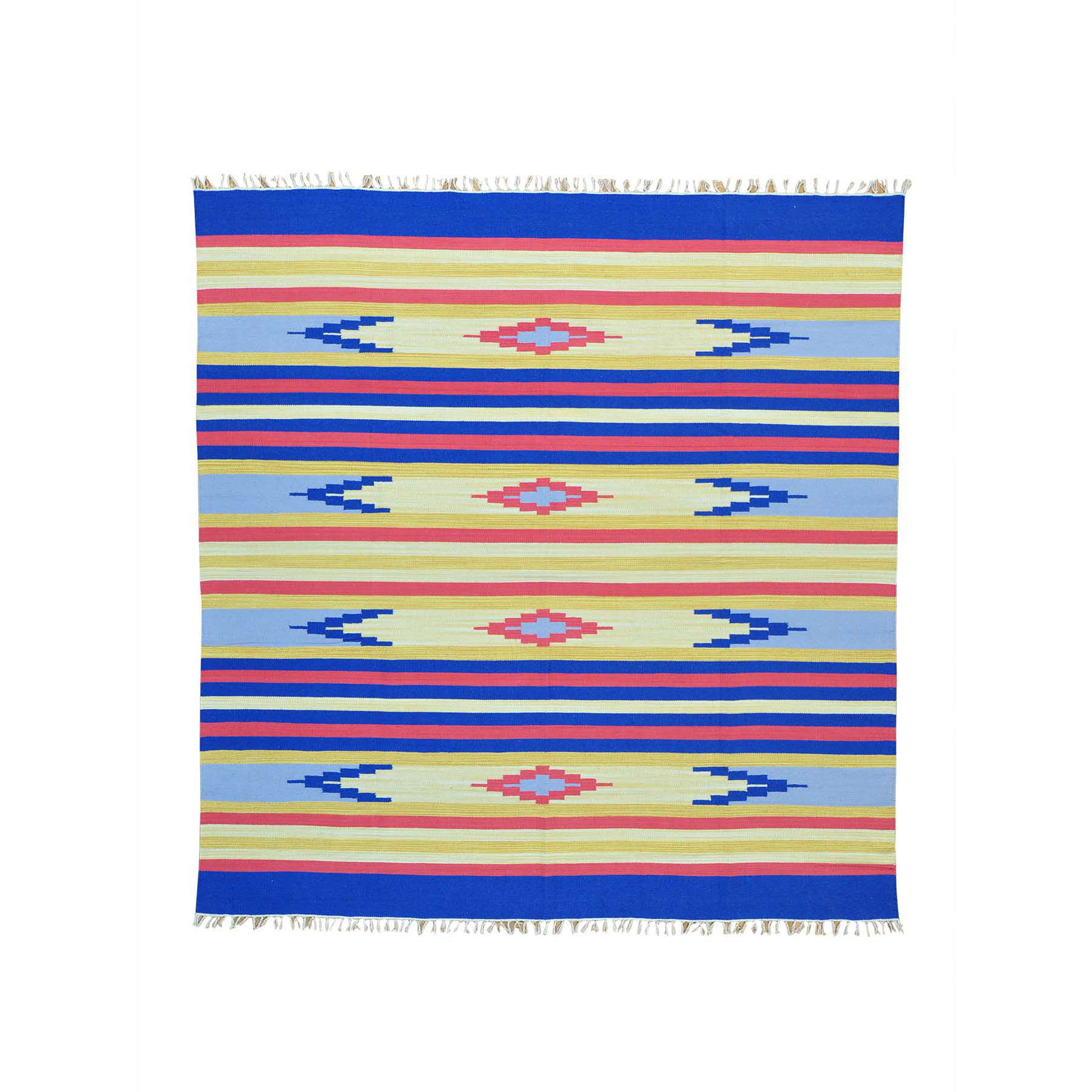 Fine Kilim Collection Hand Woven Multicolored Rug No: 152108