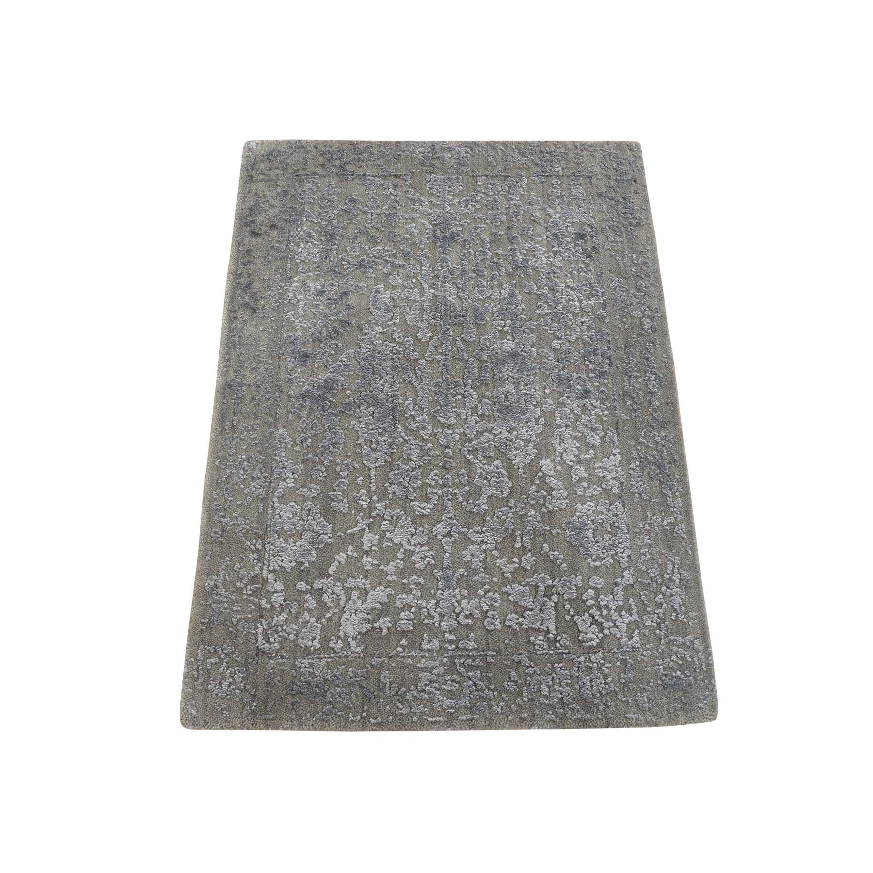 Modern Collection Hand Loomed Grey Rug No: 0179466