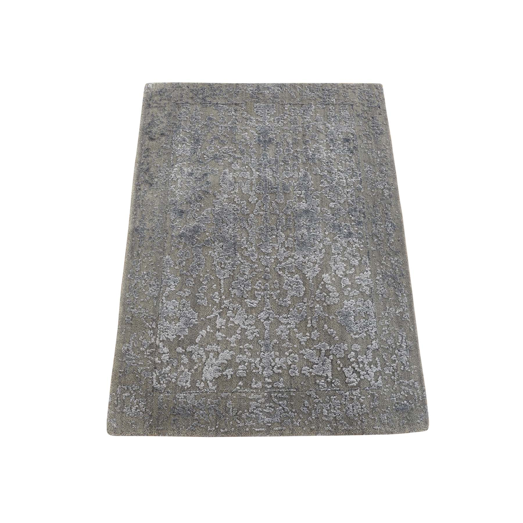 Modern Collection Hand Loomed Grey Rug No: 0179470